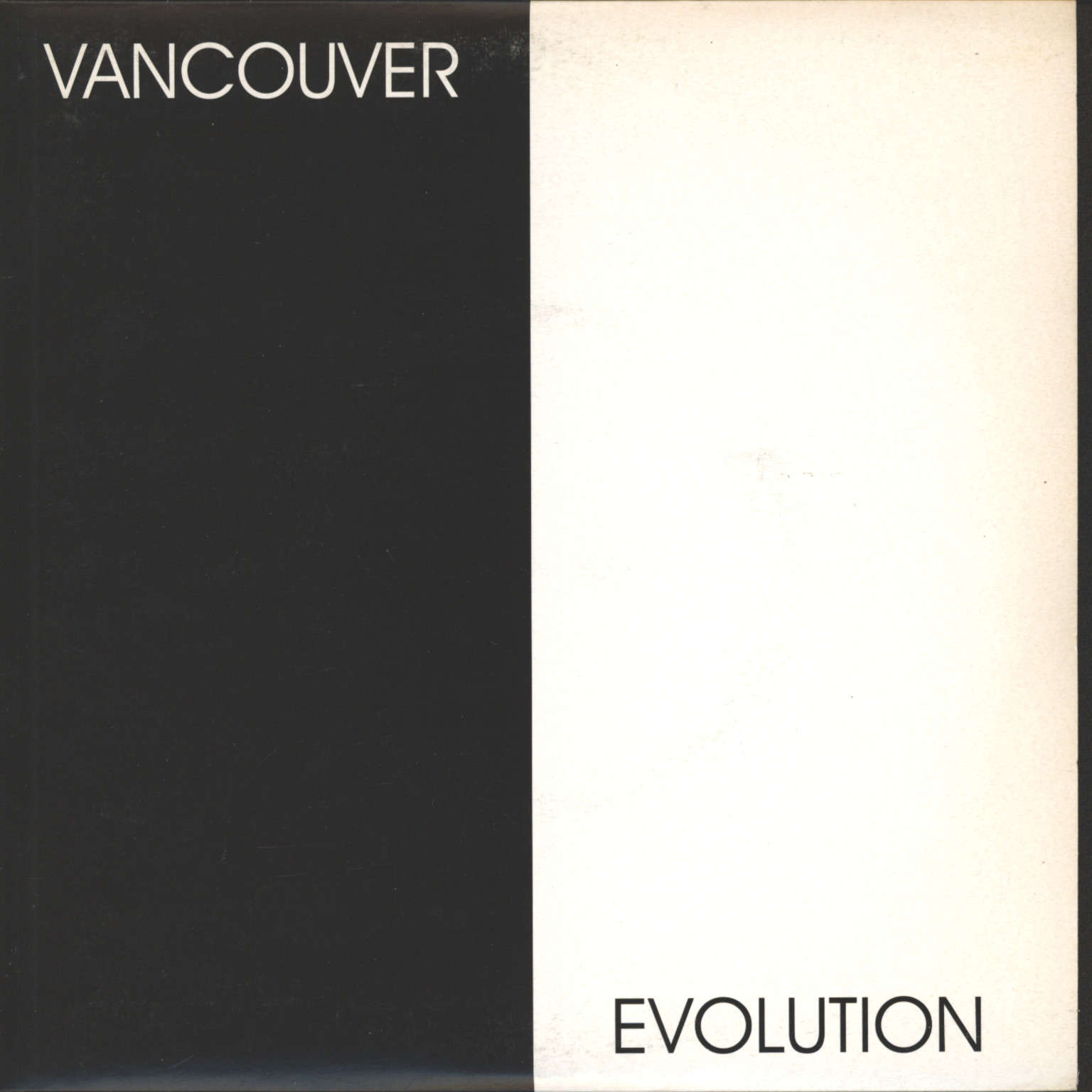 "Various: Vancouver Evolution, 7"" Single (Vinyl)"