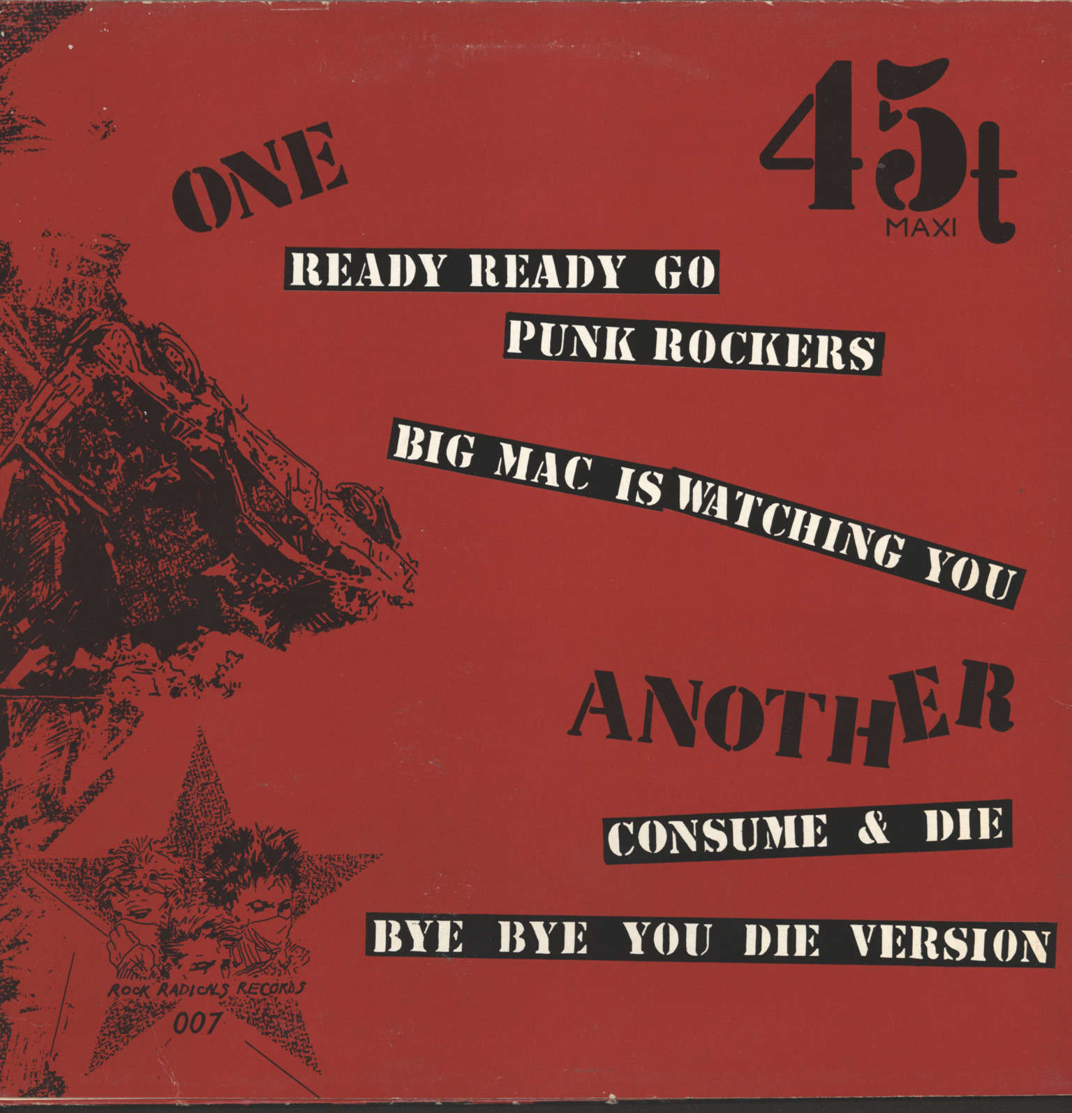 "Brigades: Ready, Ready Go Punk Rockers, 12"" Maxi Single (Vinyl)"