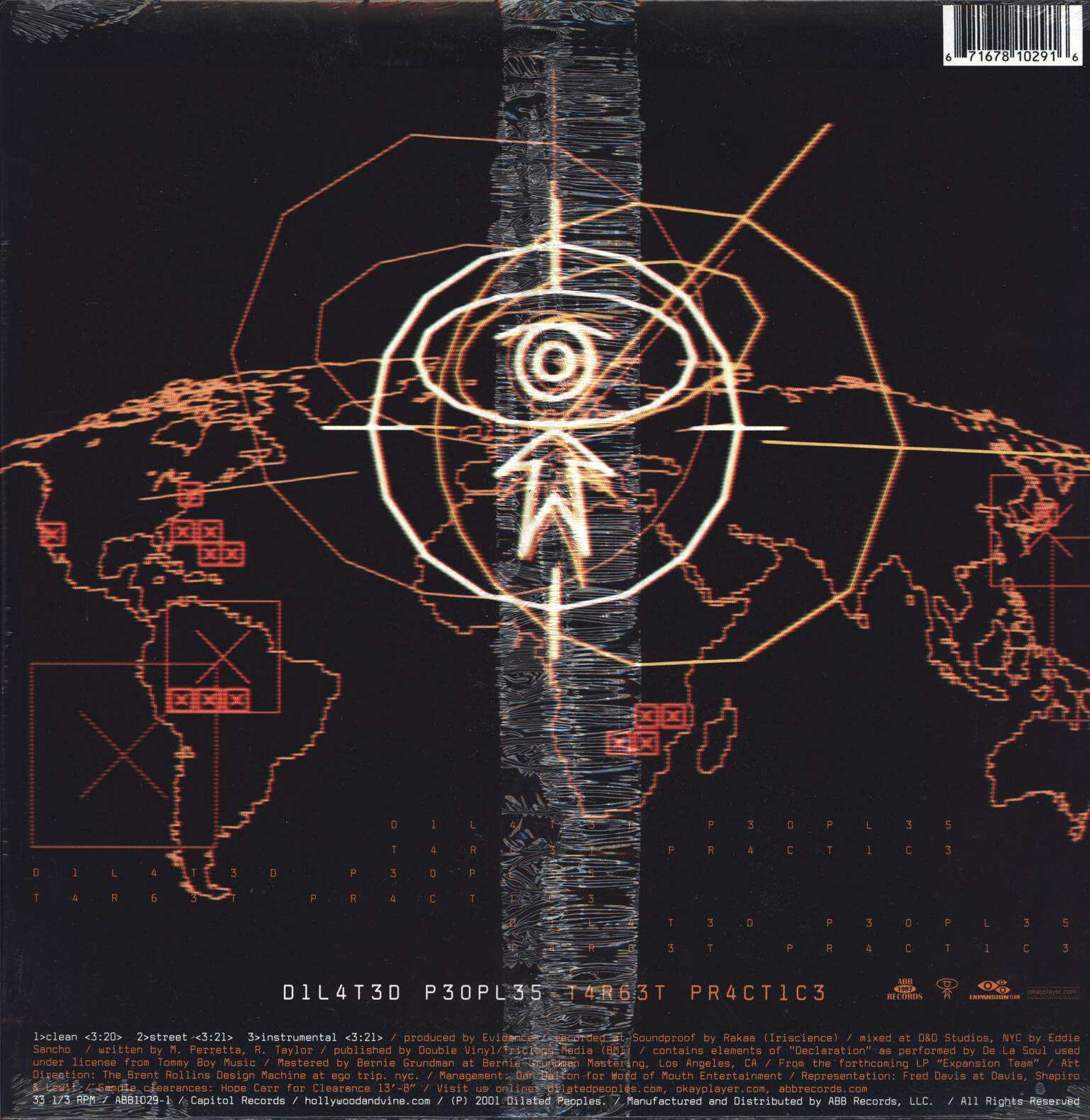 "Dilated Peoples: Worst Comes To Worst / Target Practice, 12"" Maxi Single (Vinyl)"