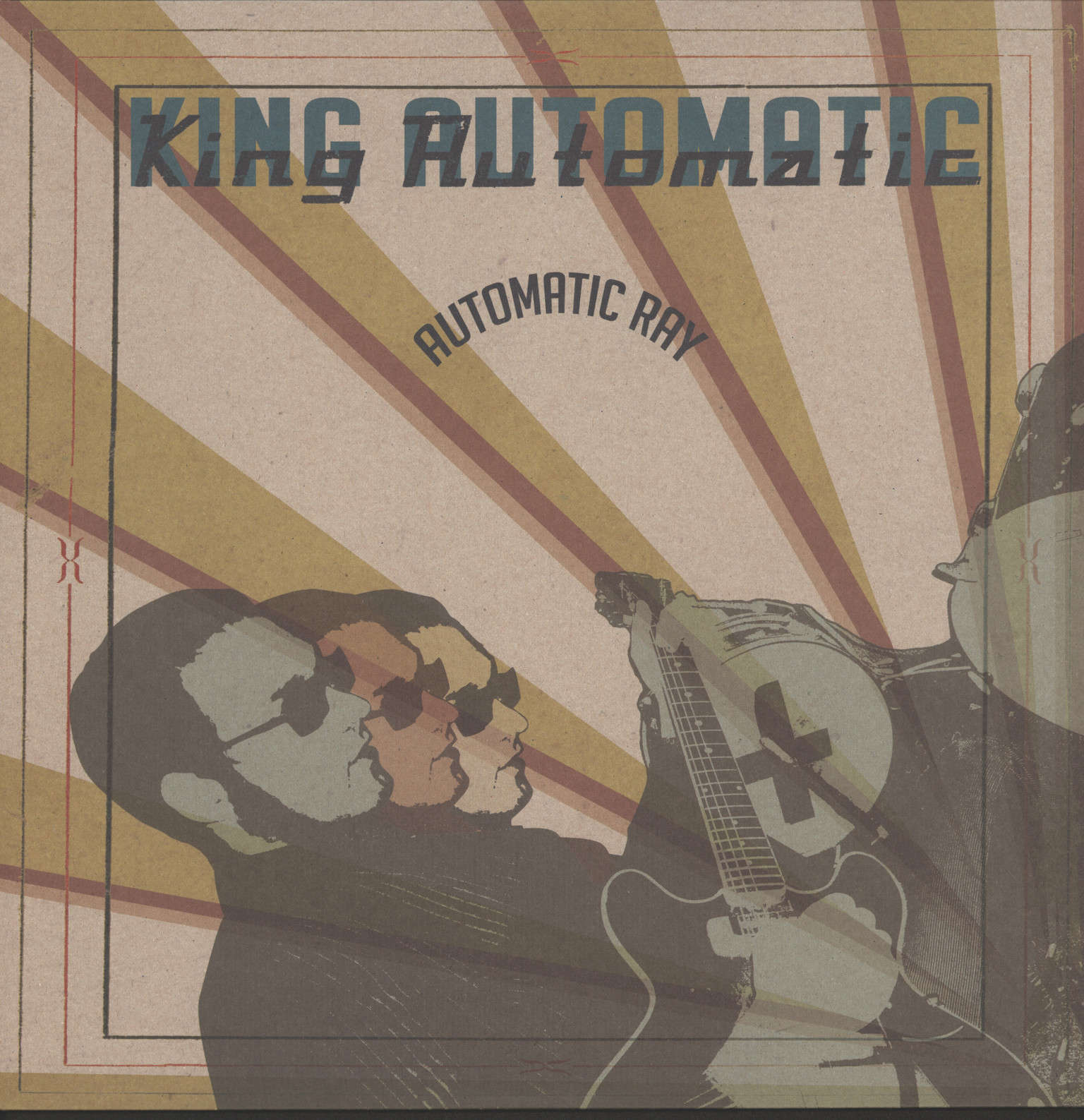 King Automatic: Automatic Ray, LP (Vinyl)