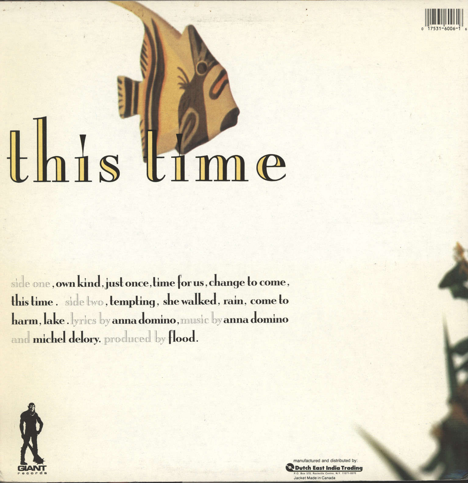 Domino, Anna: This Time, LP (Vinyl)