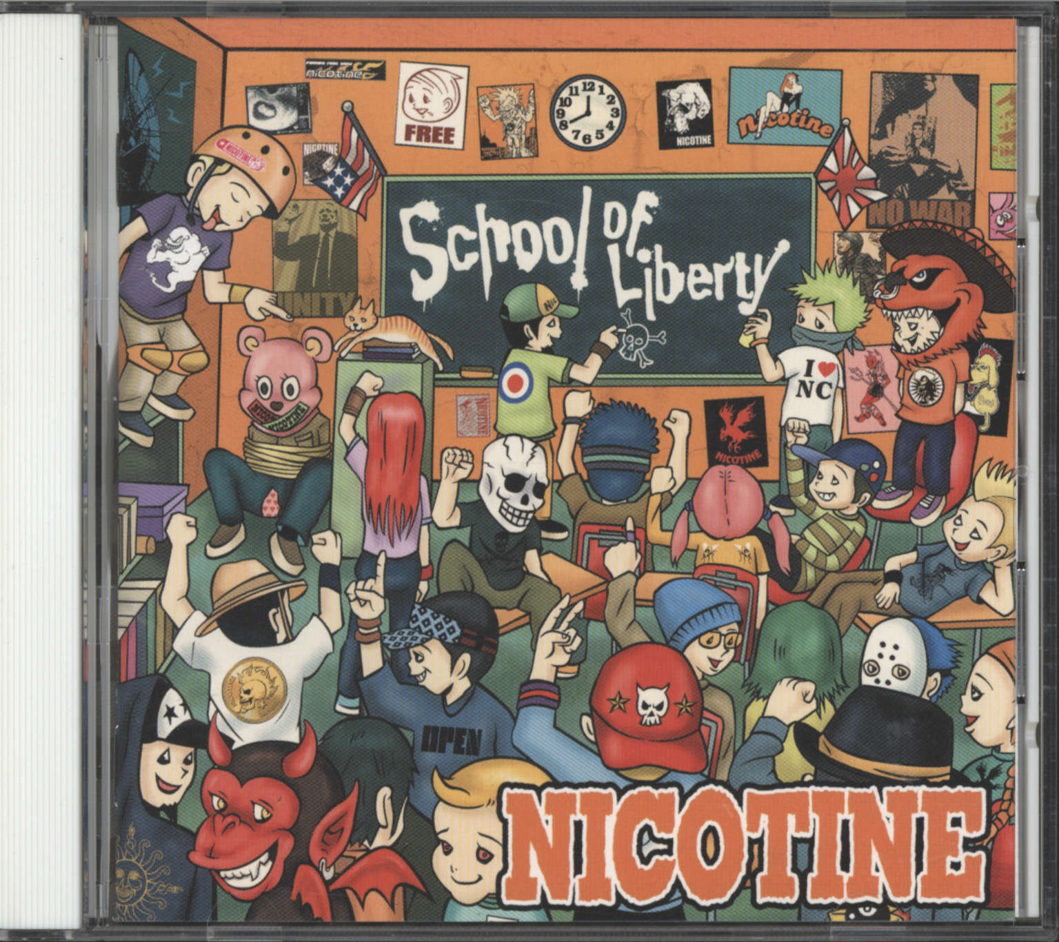 Nicotine: School Of Liberty, CD