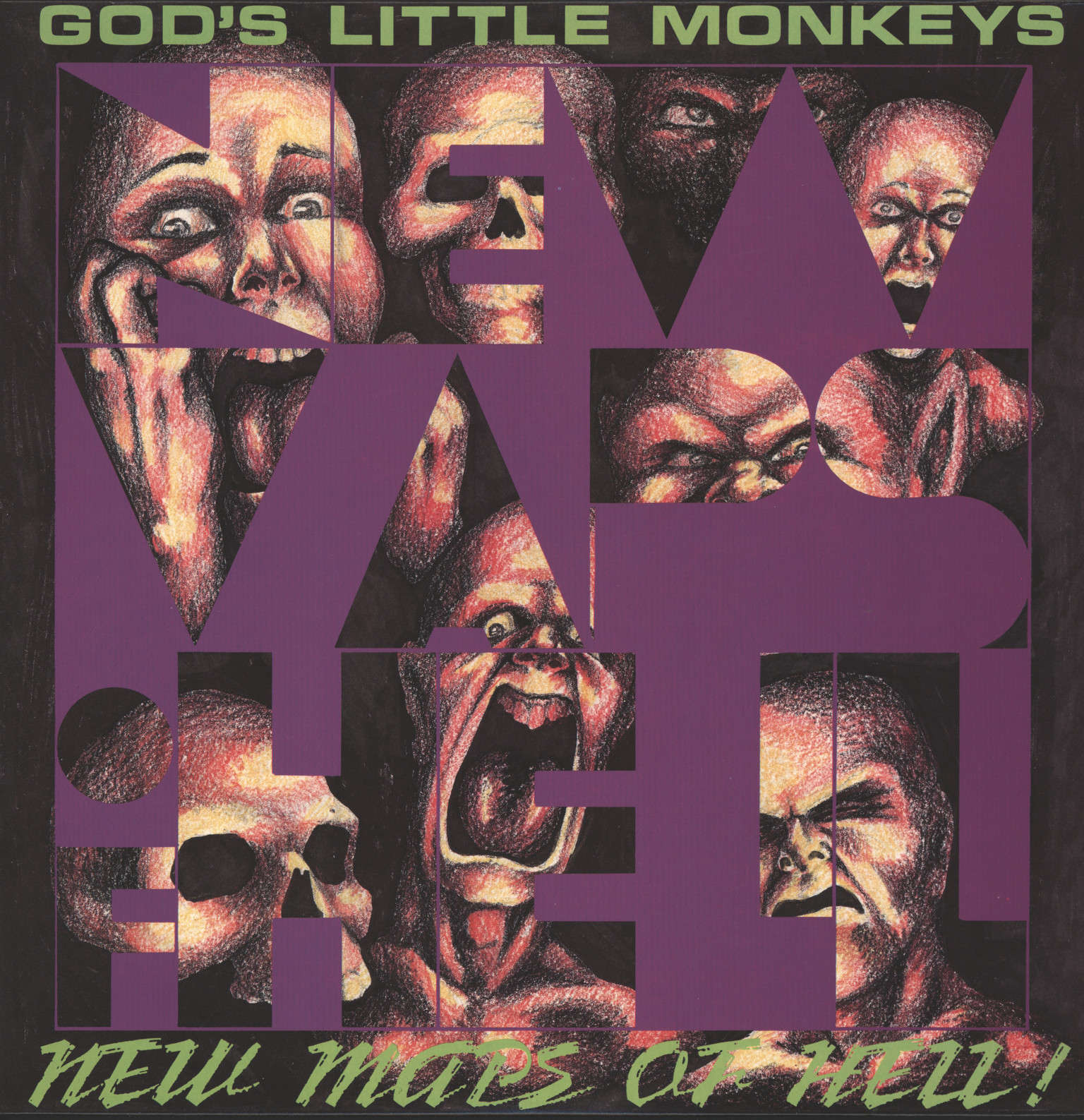 God's Little Monkeys: New Maps Of Hell, LP (Vinyl)