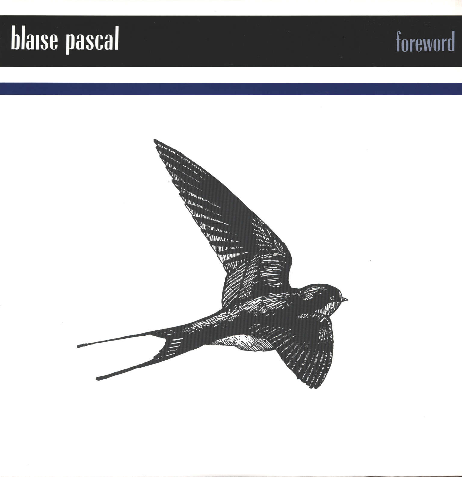 "Blaise Pascal: Foreword, 12"" Maxi Single (Vinyl)"