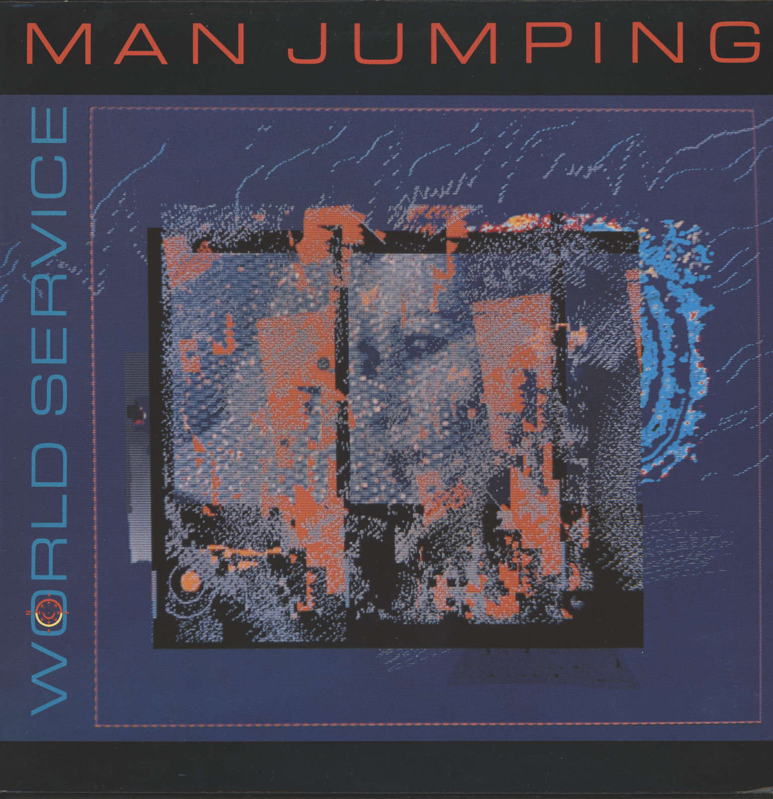 Man Jumping: World Service, LP (Vinyl)