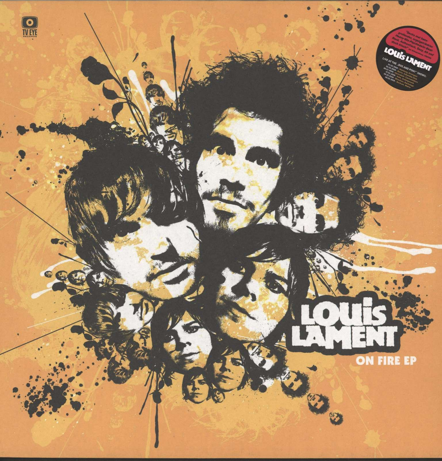 "Louis Lament: On Fire Ep, 12"" Maxi Single (Vinyl)"