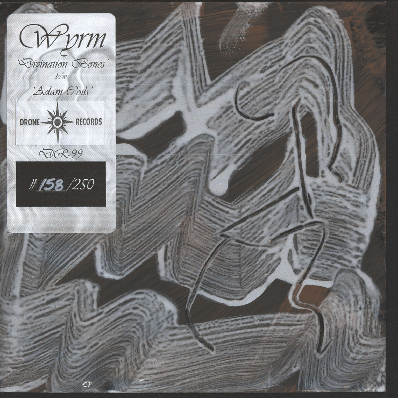 "Wyrm: Divination Bones, 7"" Single (Vinyl)"