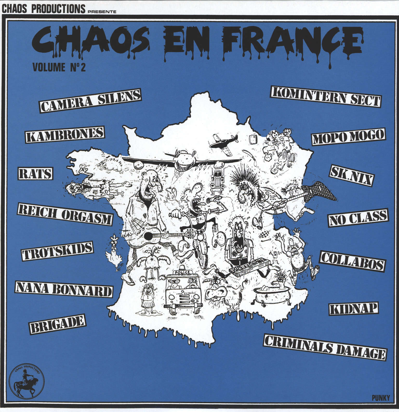 Various: Chaos En France - Volume 2, LP (Vinyl)