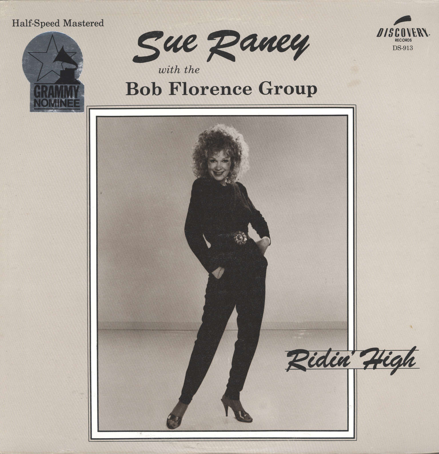 Raney With the Bob Florence Group, Sue: Ridin' High, LP (Vinyl)