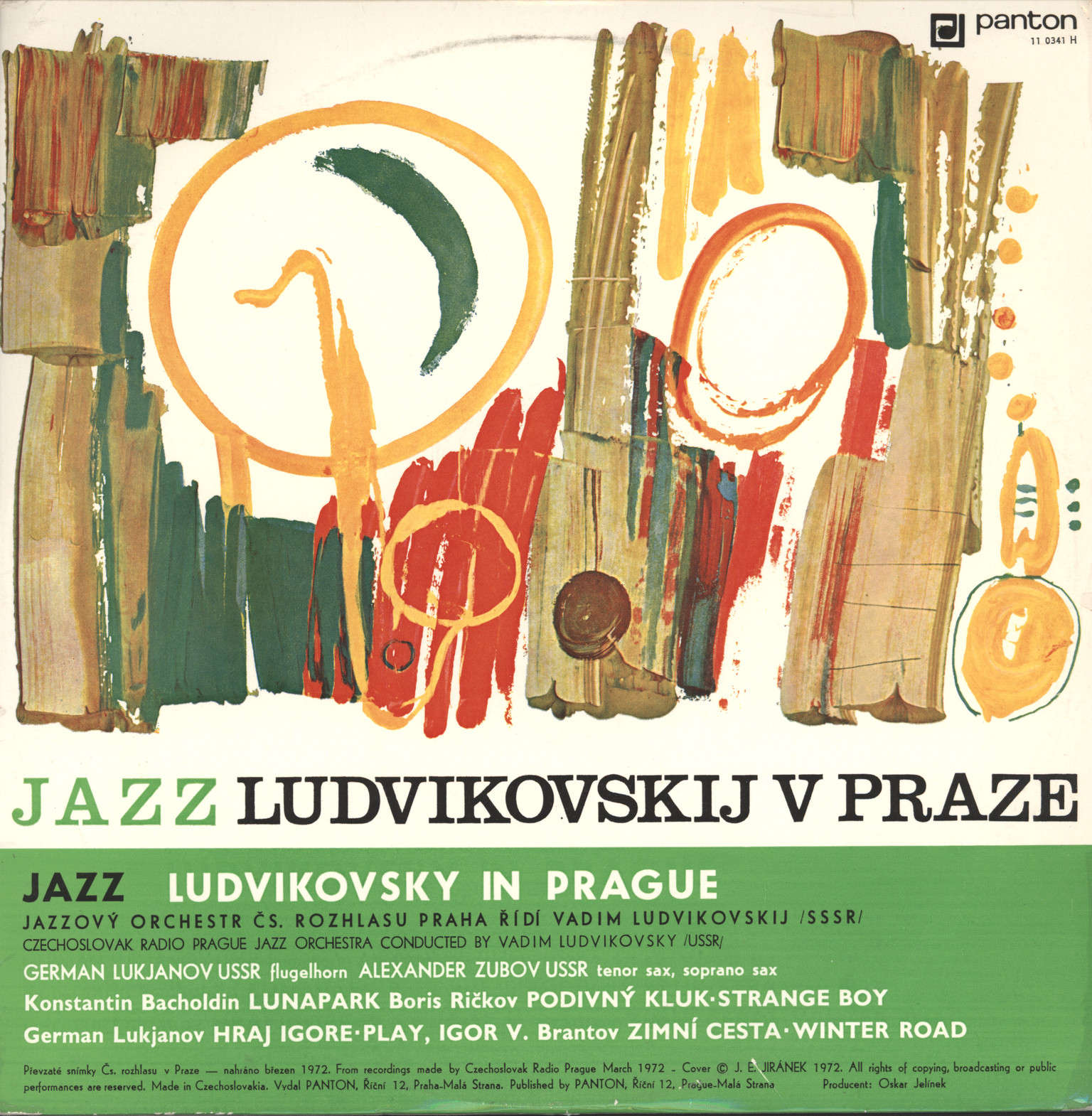 Ludvikovsky With Czechoslovak Radio Jazz, Vadim: Ludvikovsky In Prague, LP (Vinyl)