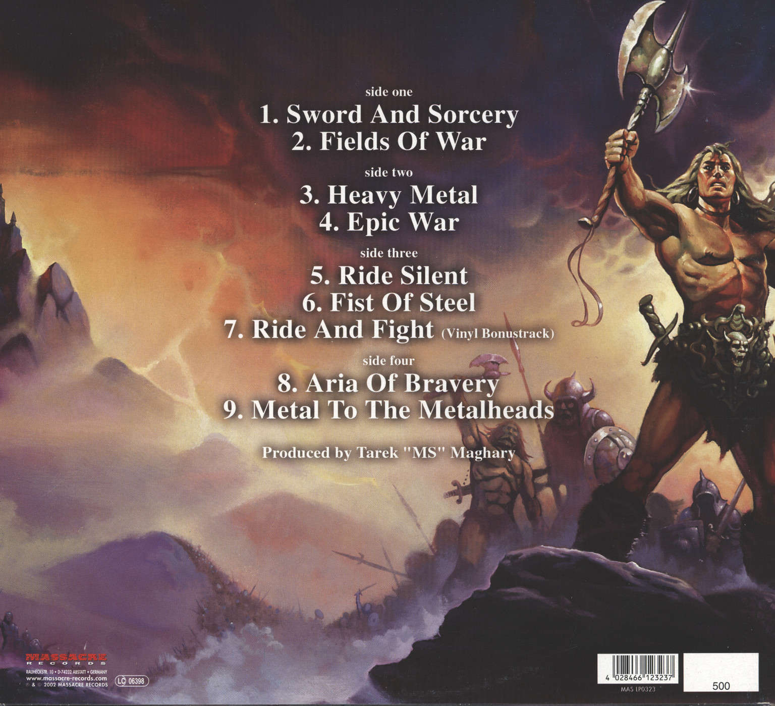 Majesty: Sword & Sorcery, LP (Vinyl)