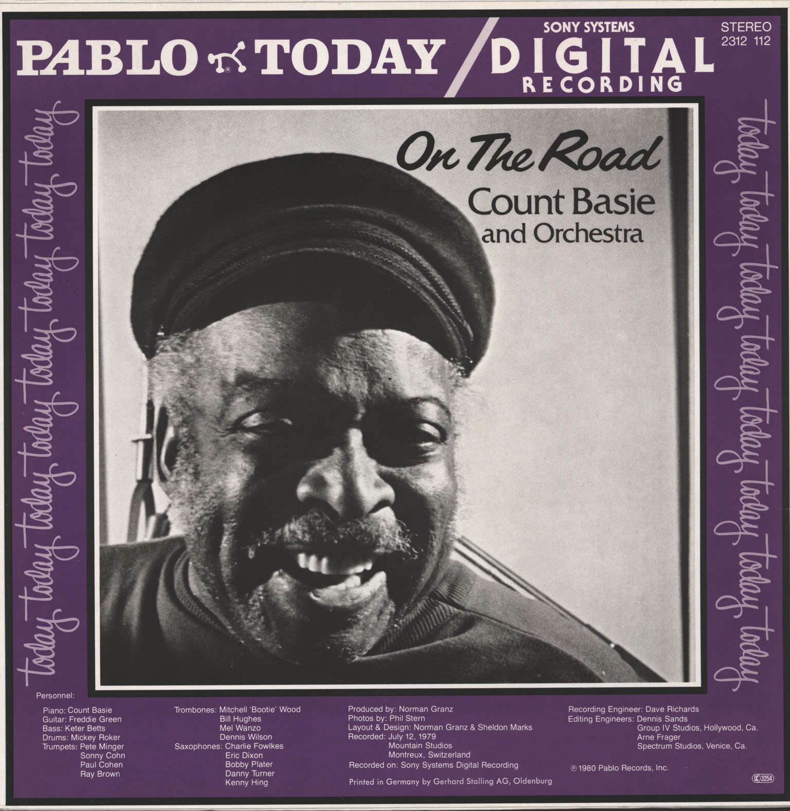 Basie and Orchestra, Count: On The Road, LP (Vinyl)