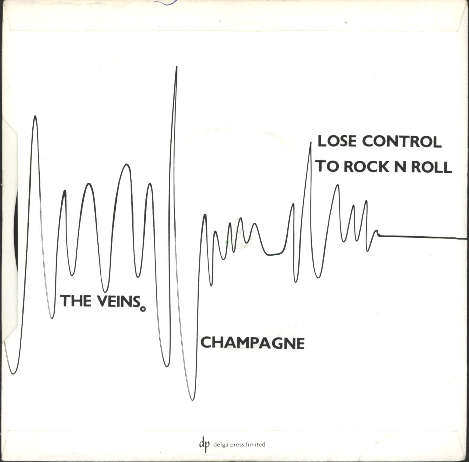 "Veins: Lose Control To Rock'n'Roll, 7"" Single (Vinyl)"