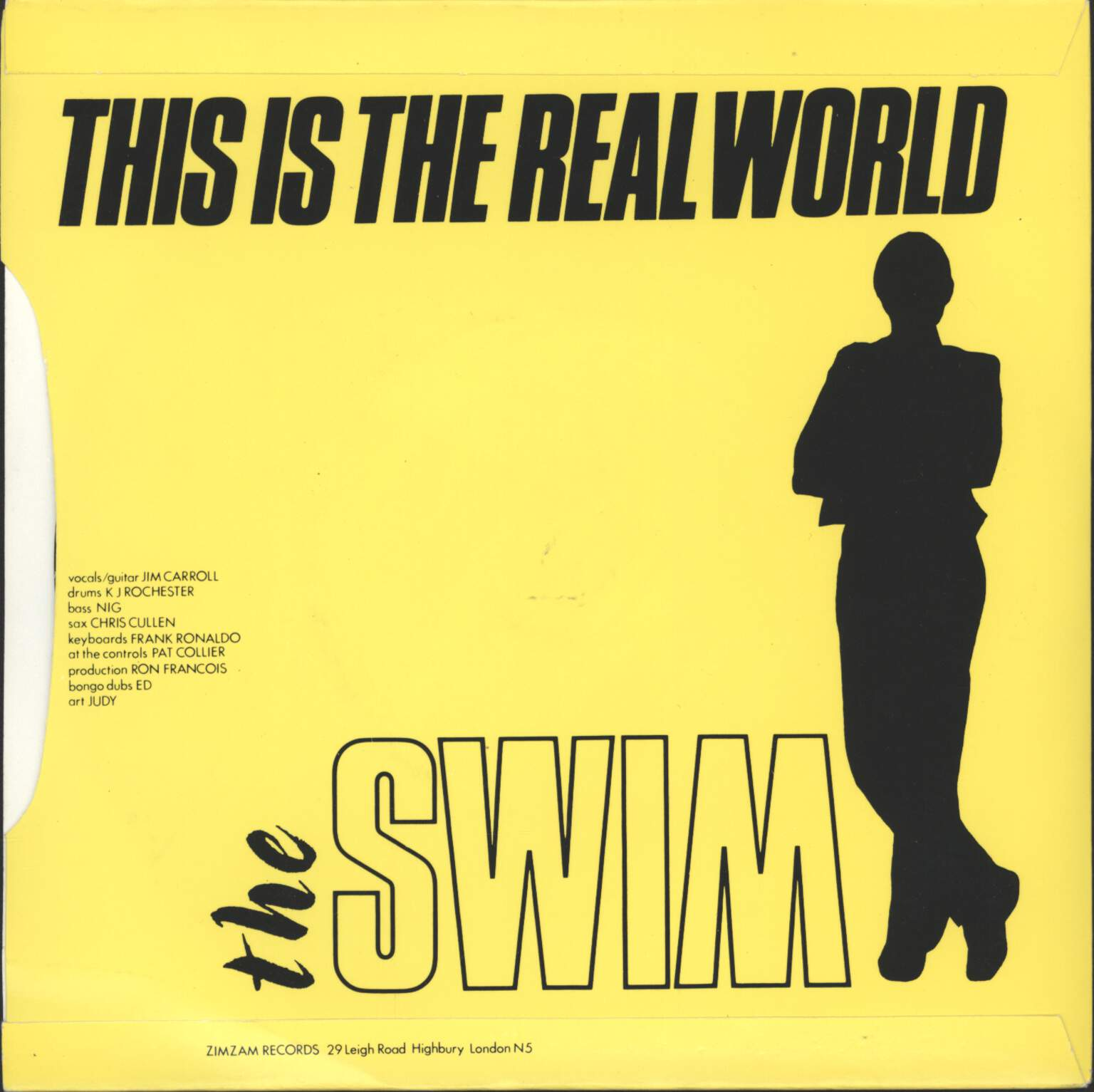 "Swim: Bongo Bongo / This Is The Real World, 7"" Single (Vinyl)"