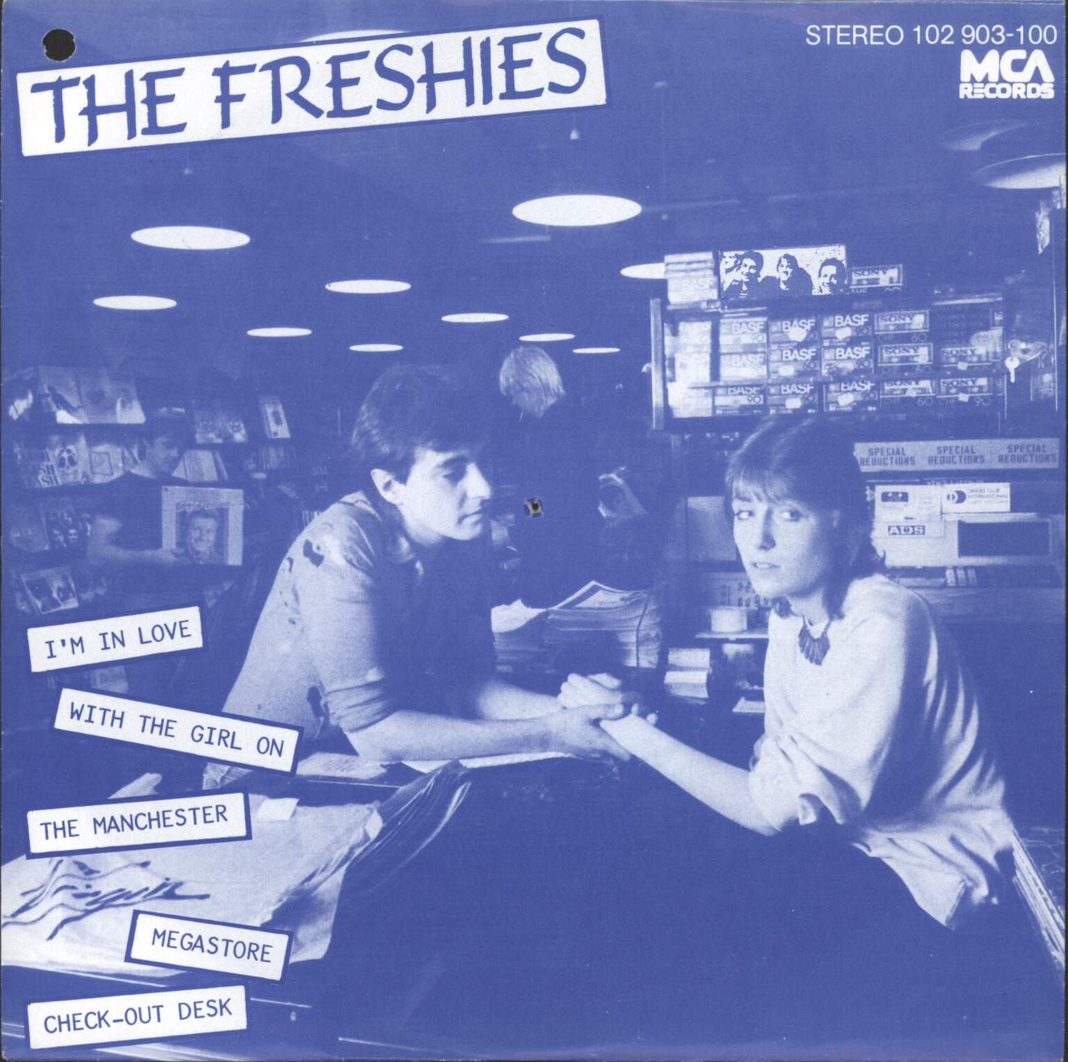 "Freshies: I'm In Love With The Girl On The Manchester Virgin Megastore Check Out Desk, 7"" Single (Vinyl)"