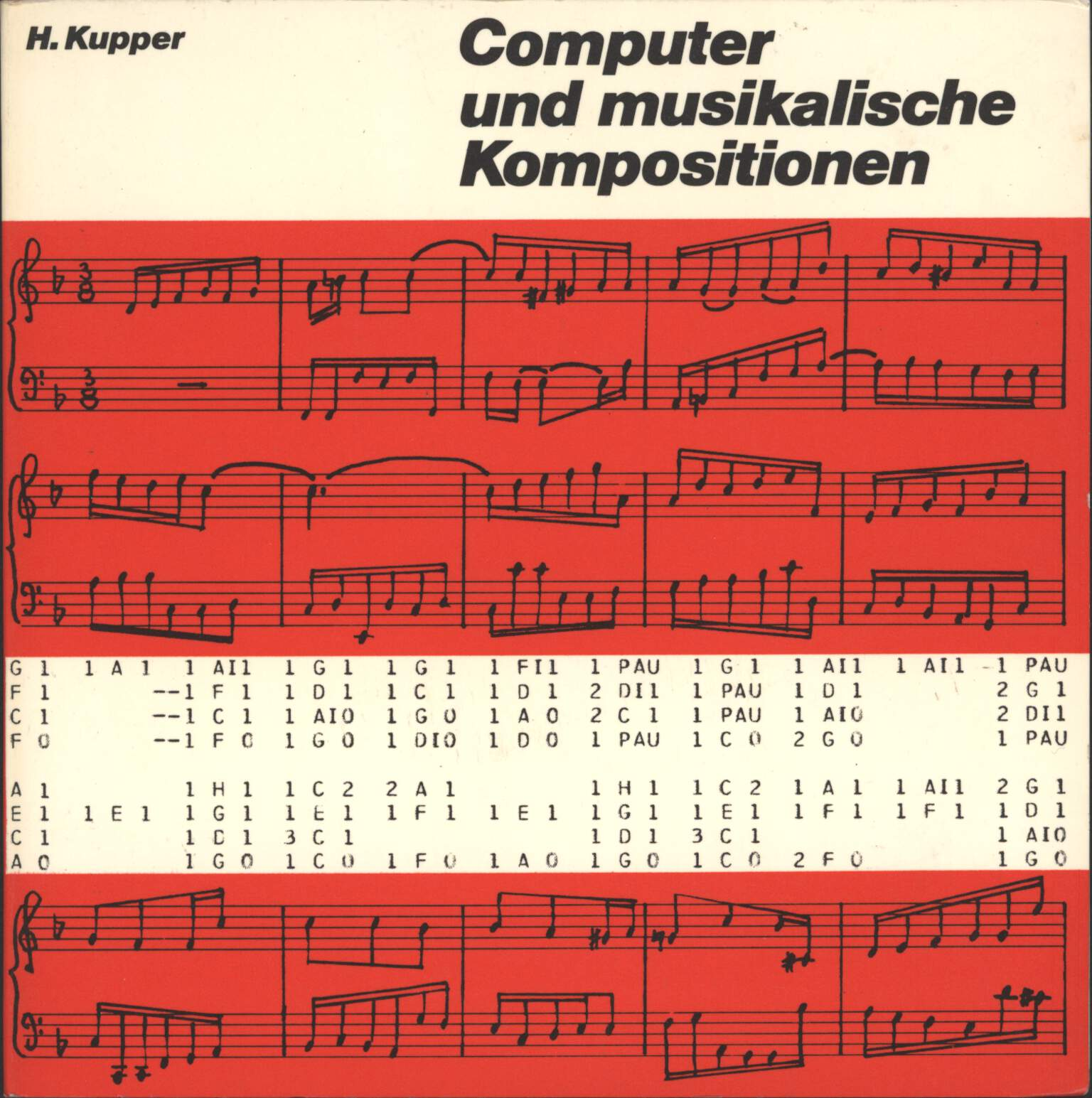 "Hubert Kupper: Computer Und Musikalische Kompositionen, 7"" Single (Vinyl)"