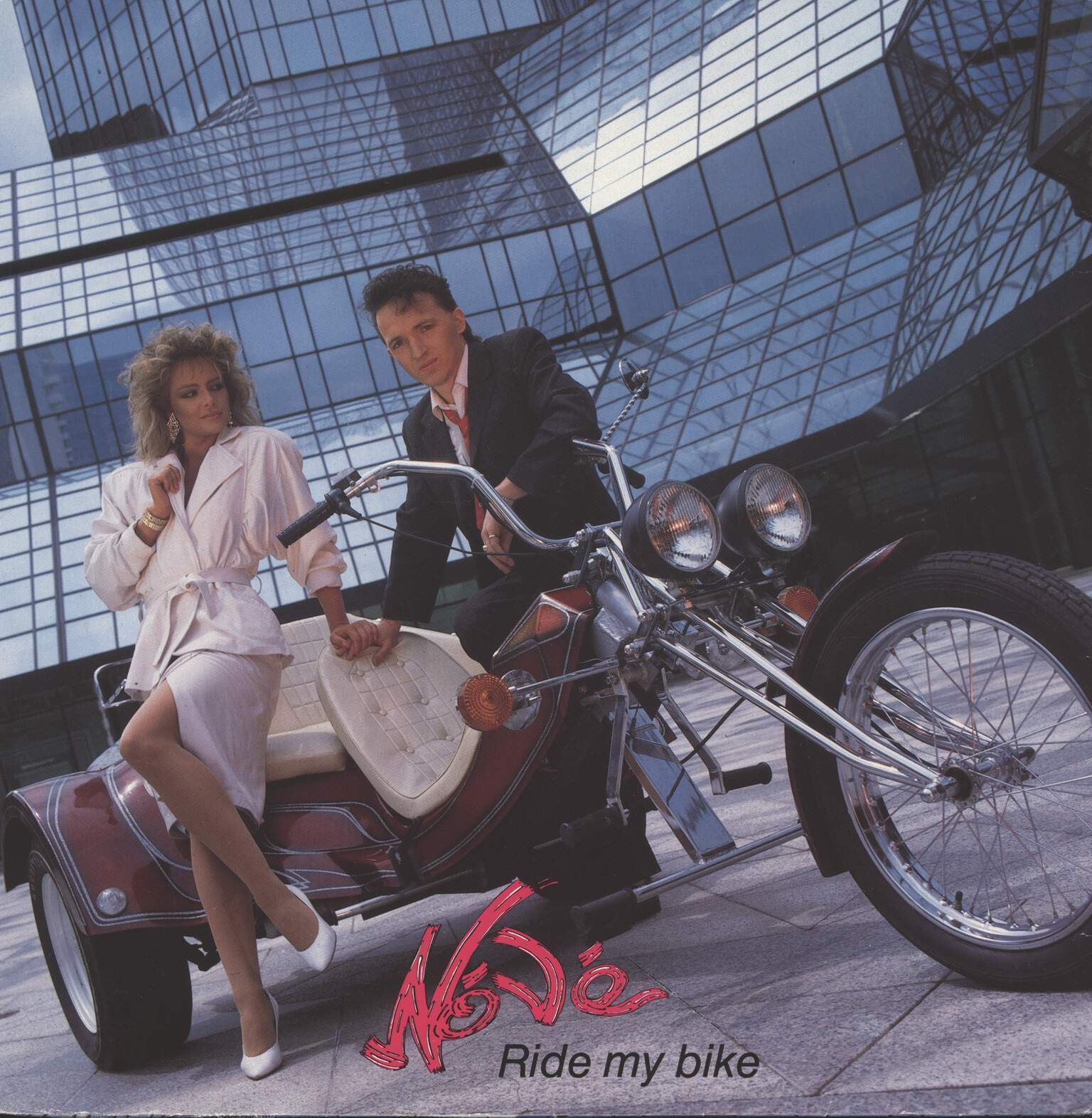 "Nóvé: Ride My Bike, 12"" Maxi Single (Vinyl)"