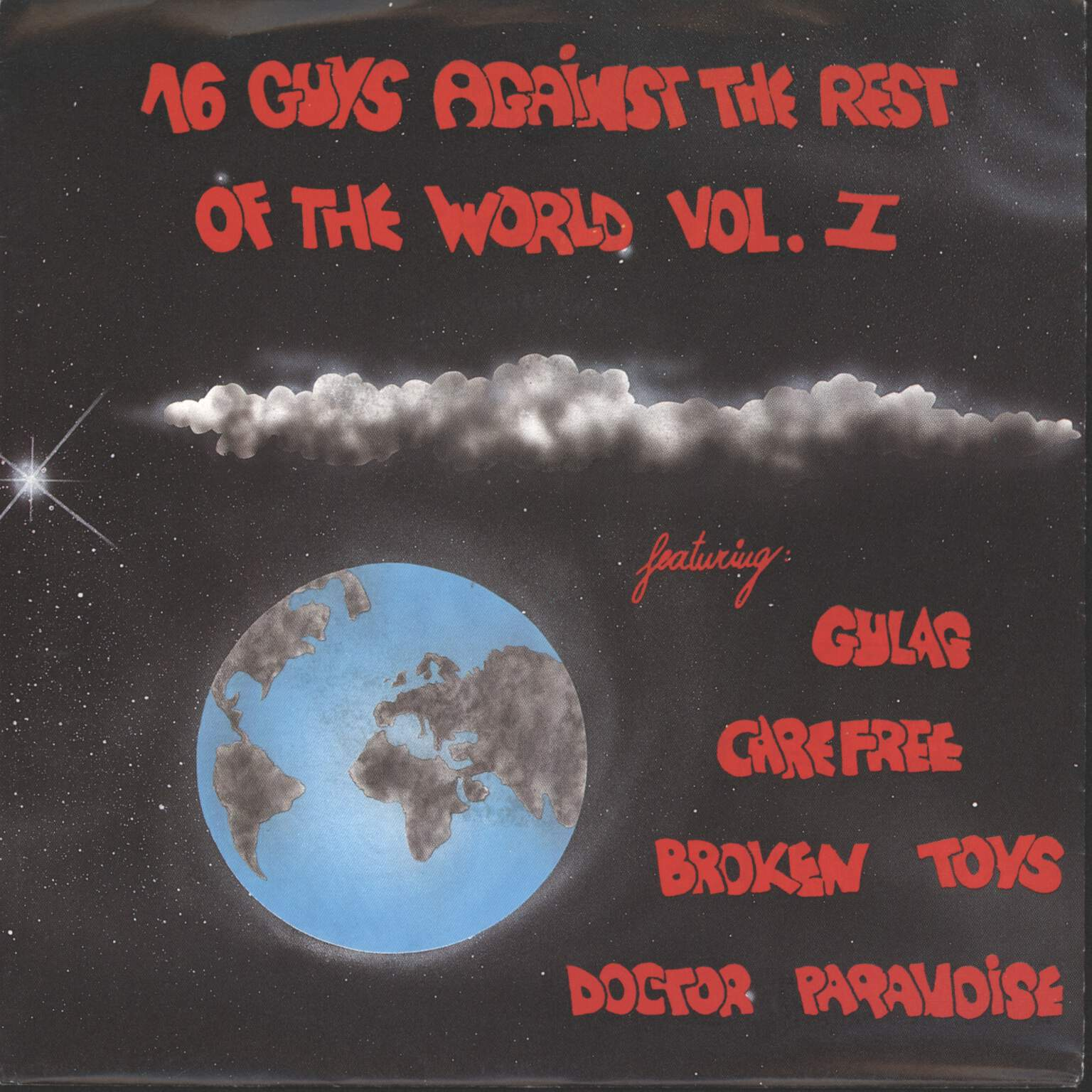 "Various: 16 Guys Against The Rest Of The World Vol. I, 7"" Single (Vinyl)"