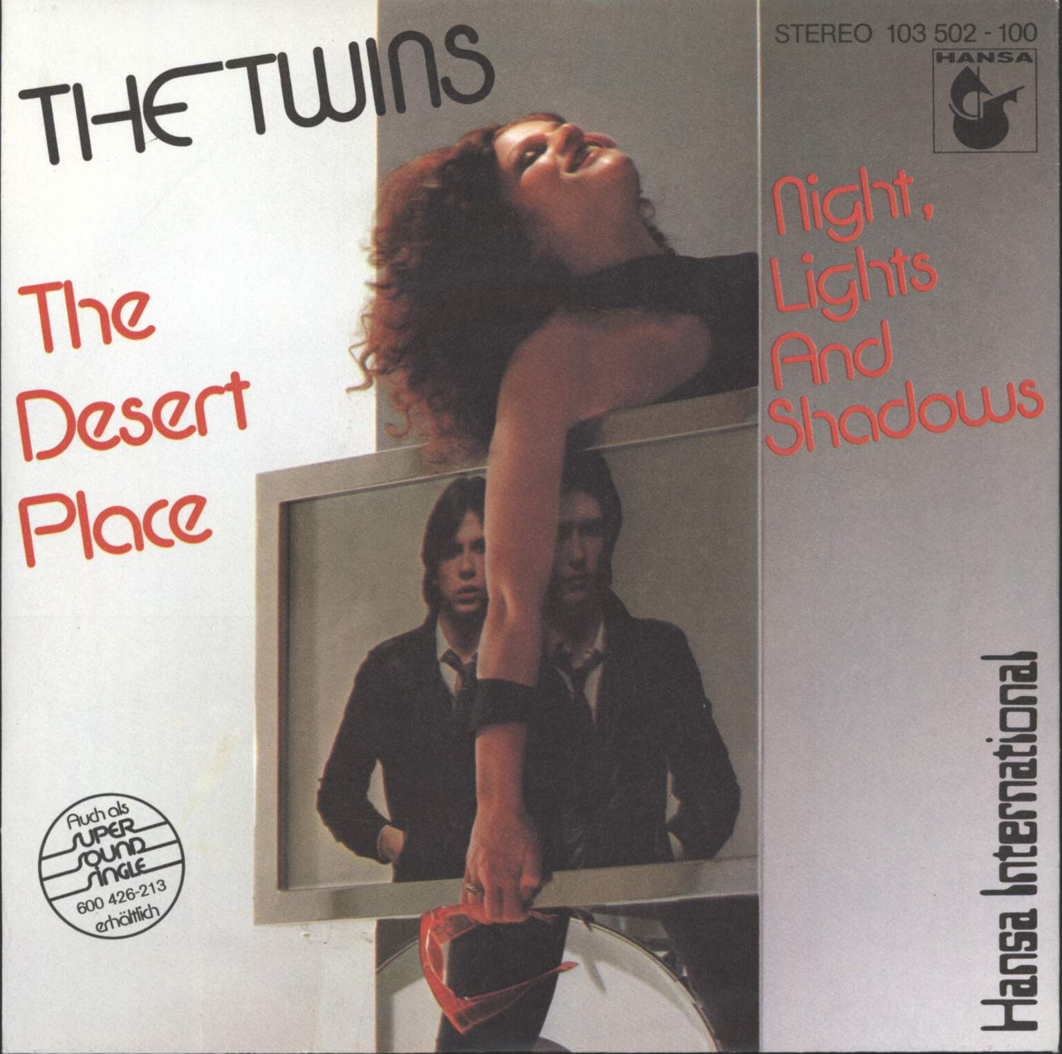 "Twins: The Desert Place, 7"" Single (Vinyl)"