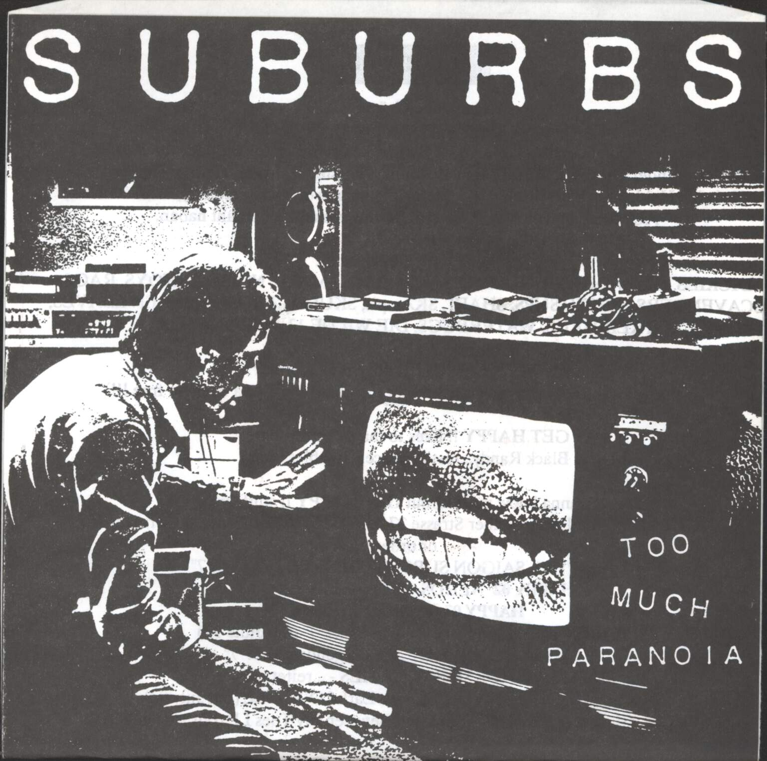 "Suburbs: Too Much Paranoia, 7"" Single (Vinyl)"
