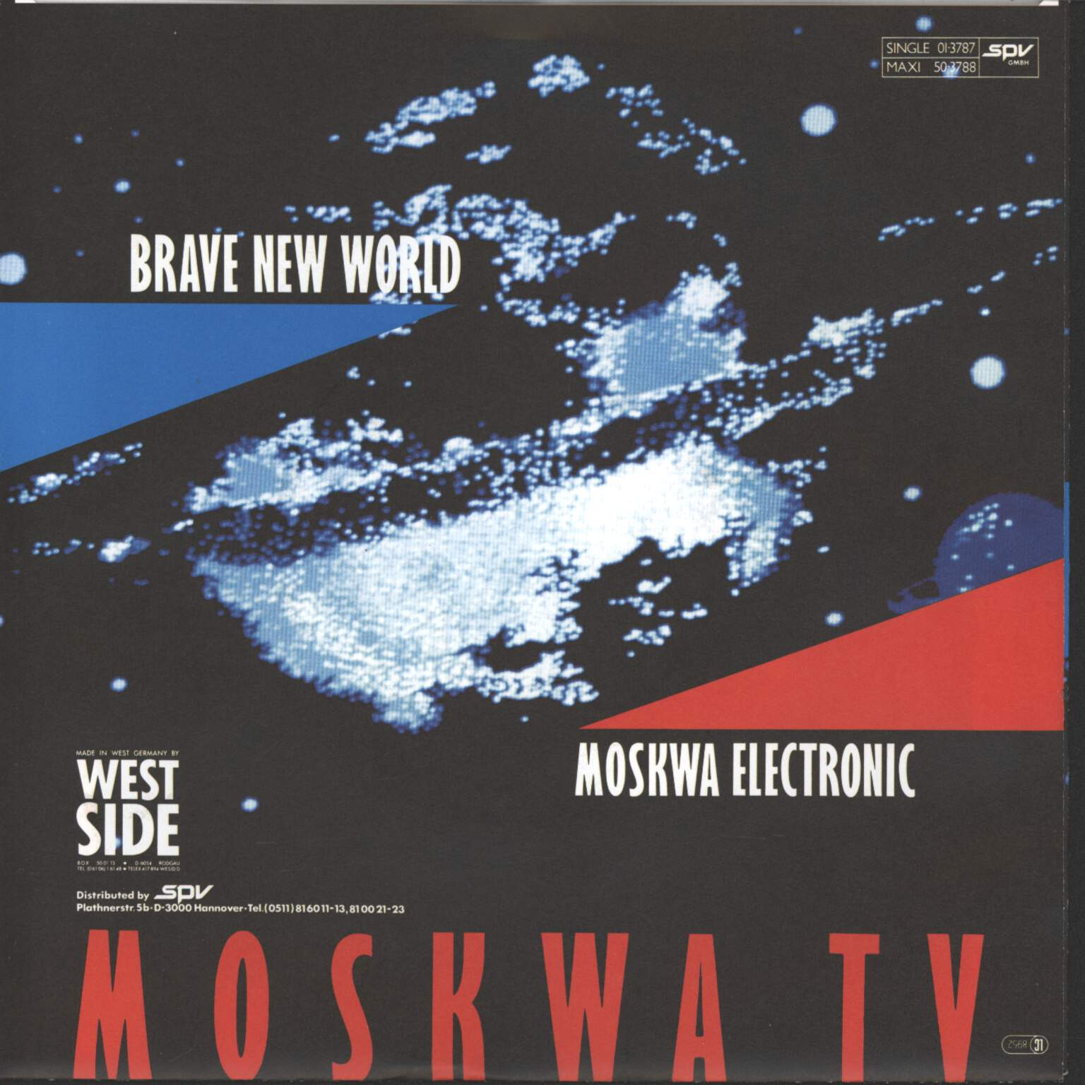 "Moskwa TV: Brave New World, 7"" Single (Vinyl)"
