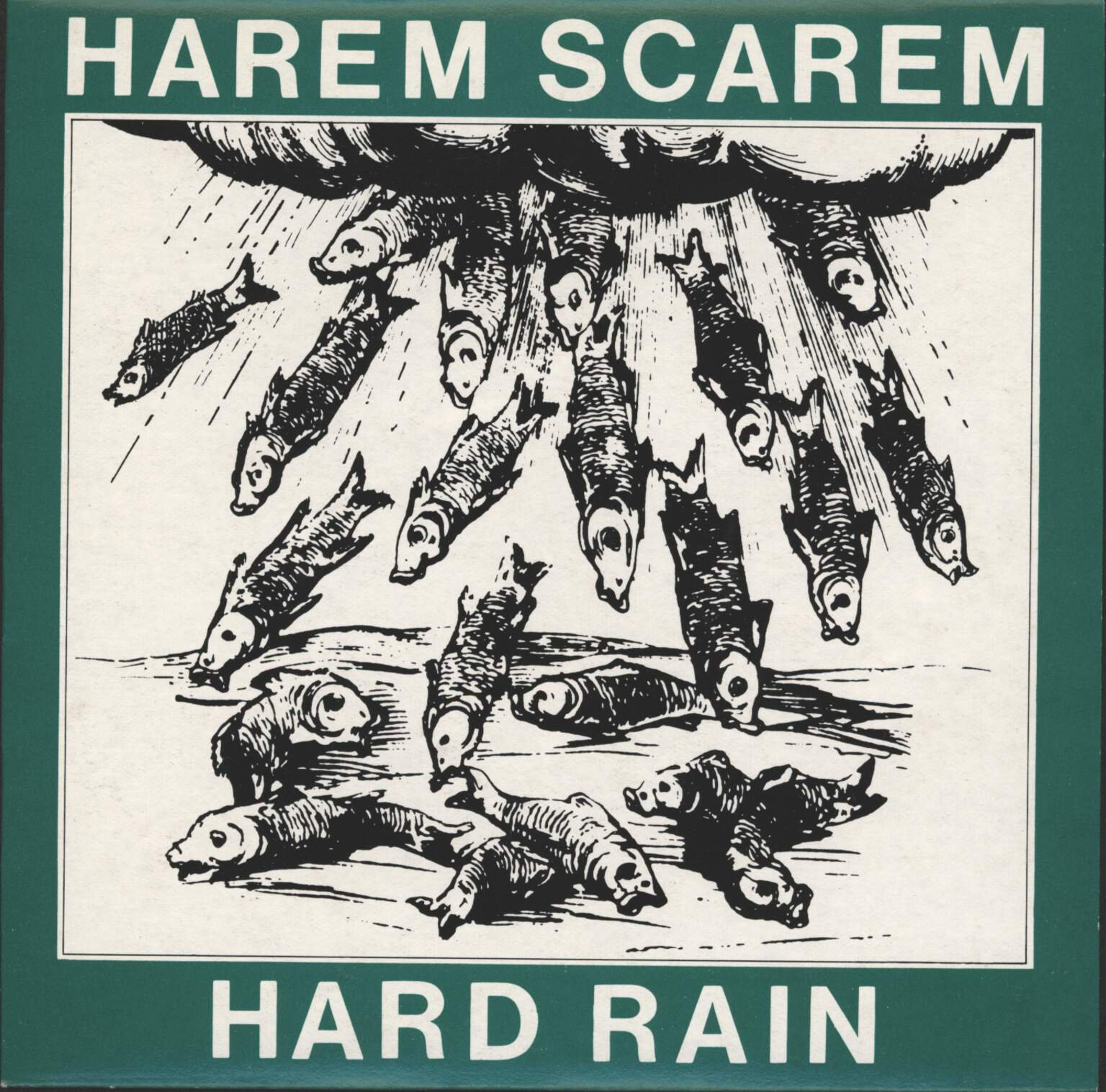"Harem Scarem: Hard Rain, 7"" Single (Vinyl)"