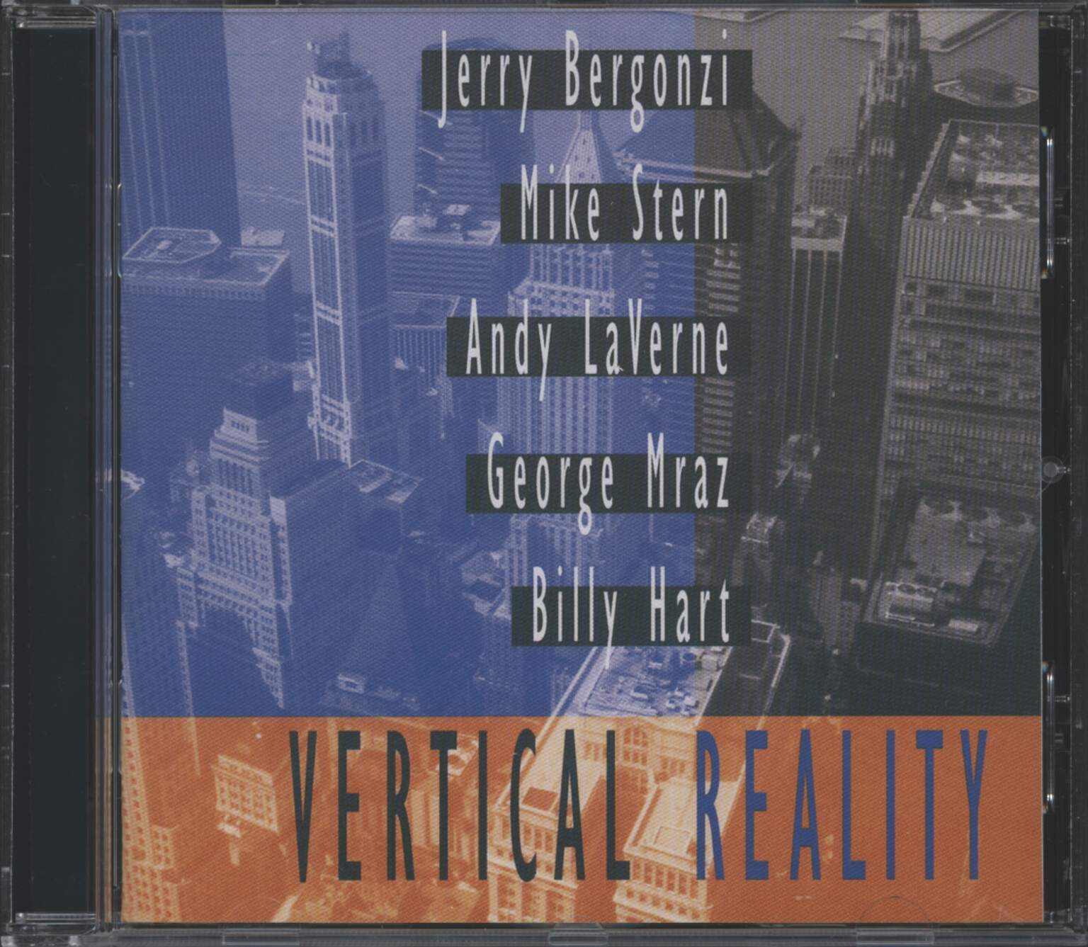 Jerry Bergonzi: Vertical Reality, CD