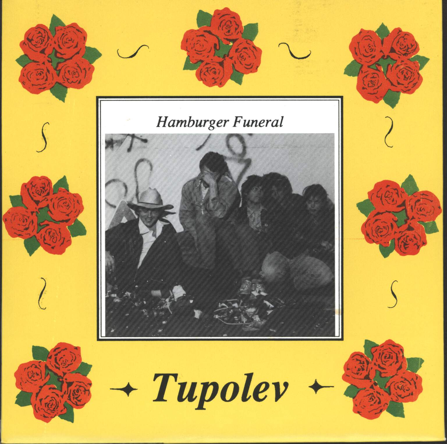 "Tupolev: Hamburger Funeral, 7"" Single (Vinyl)"