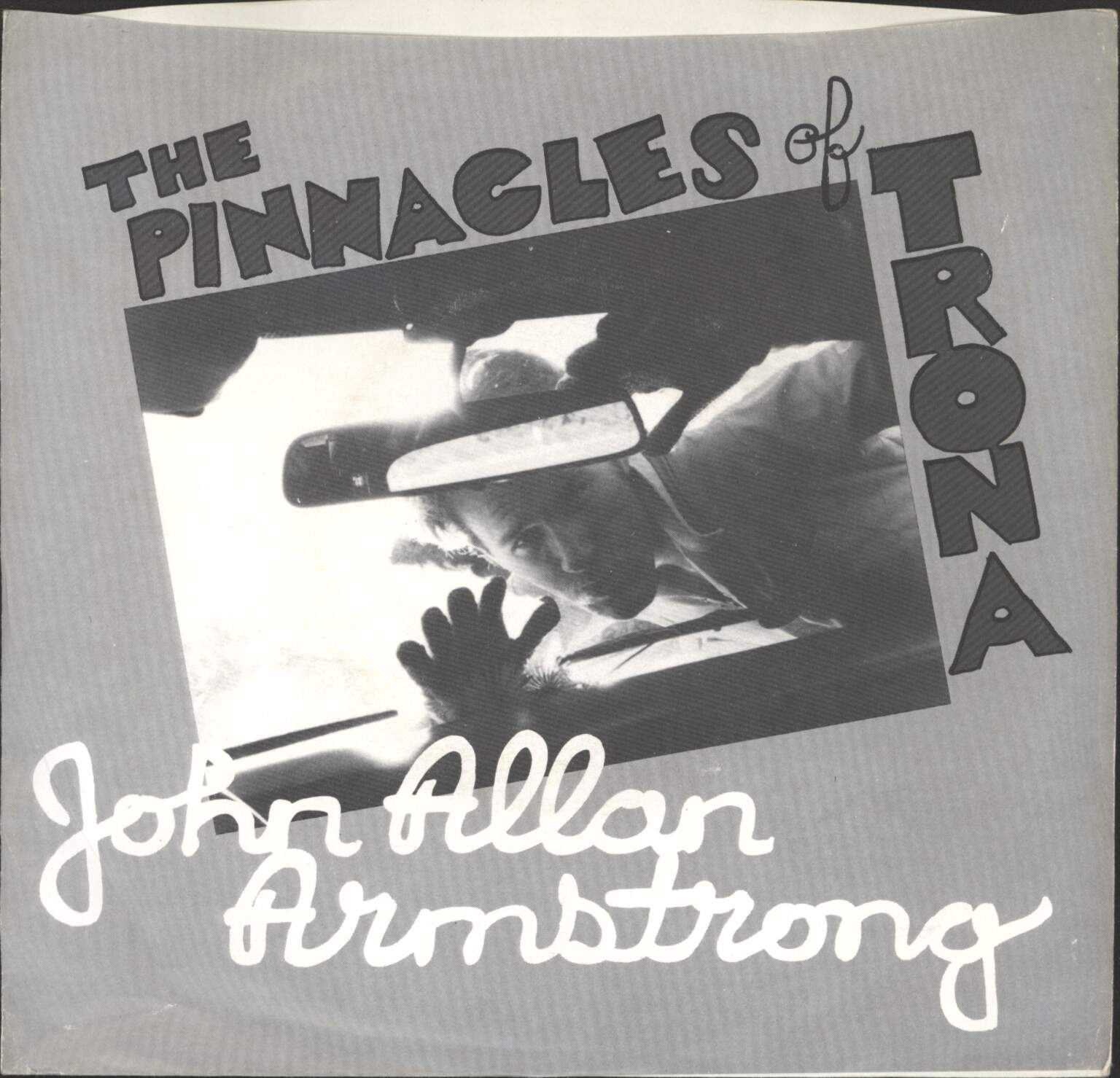 "John Allan Armstrong: The Pinnacles Of Trona, 7"" Single (Vinyl)"