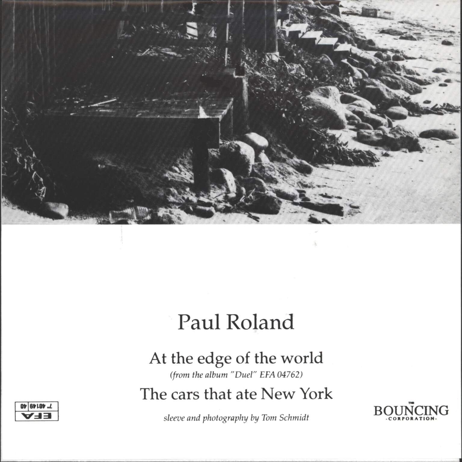 "Roland, Paul: At The Edge Of The World / The Cars That Ate New York, 7"" Single (Vinyl)"