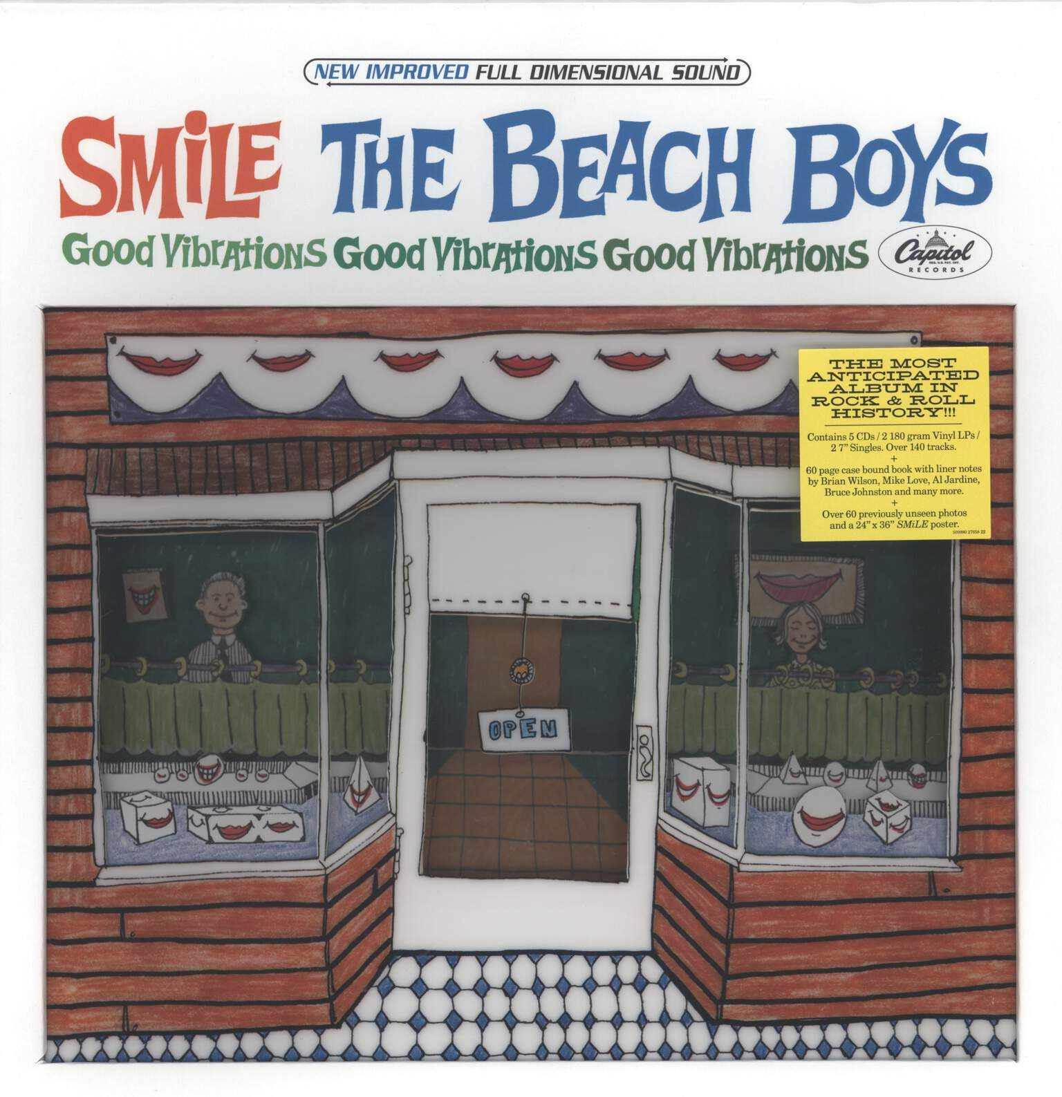 Beach Boys: Smile Sessions, LP (Vinyl)