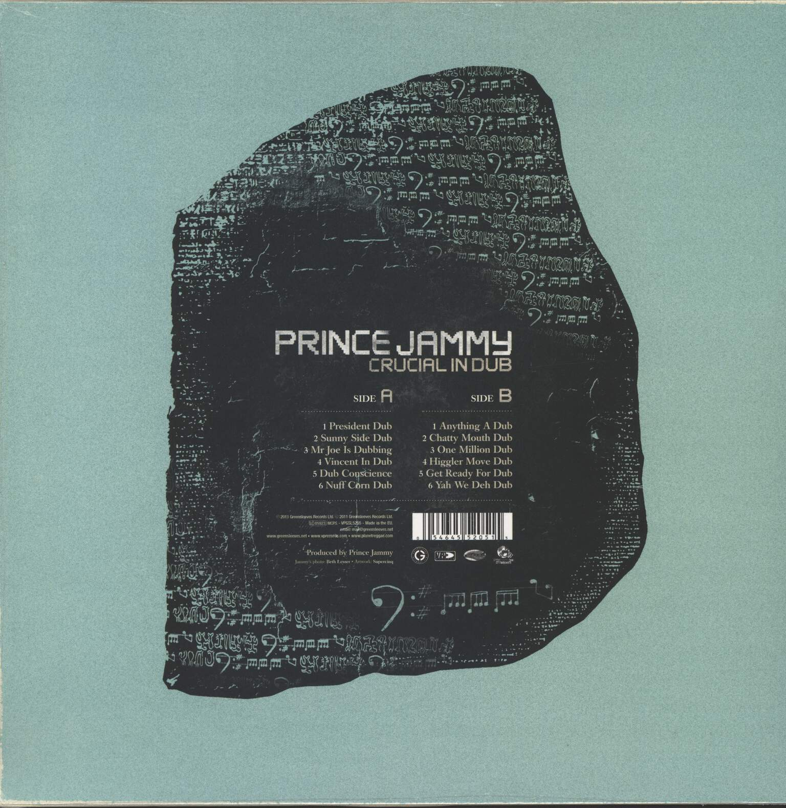 Prince Jammy: Crucial In Dub, LP (Vinyl)