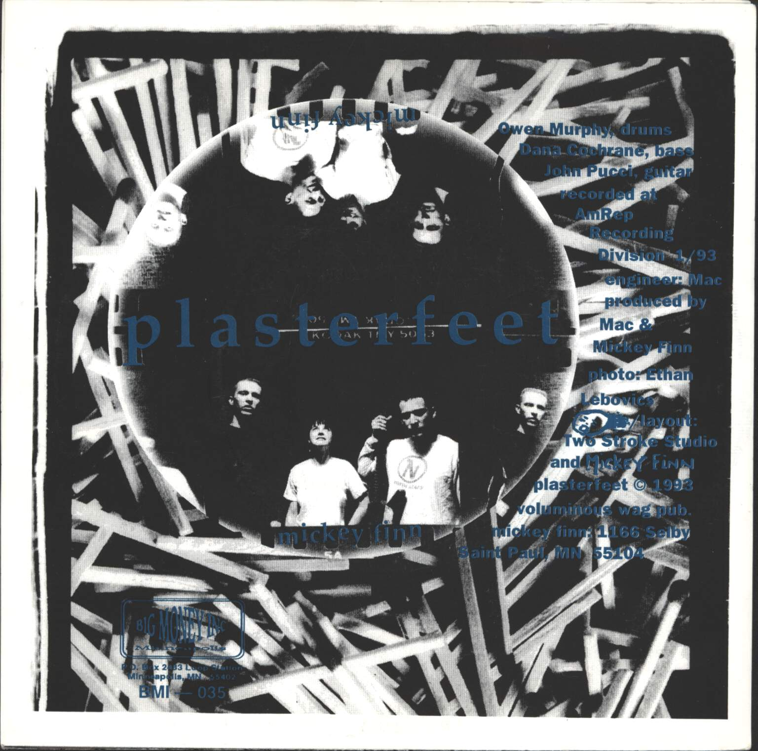 "Superball '63: Cinderblock / Plasterfeet, 7"" Single (Vinyl)"