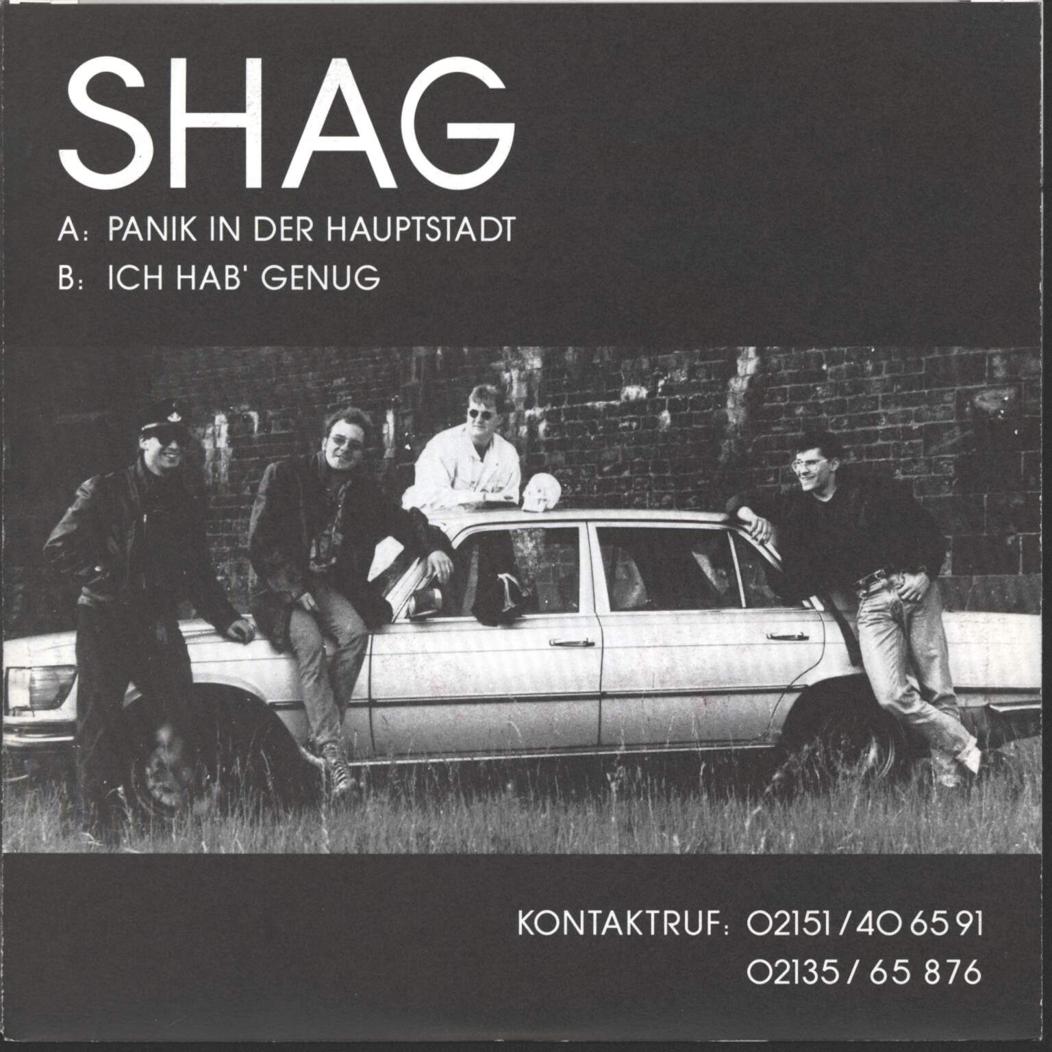 "Shag: Panik In Der Hauptstadt, 7"" Single (Vinyl)"