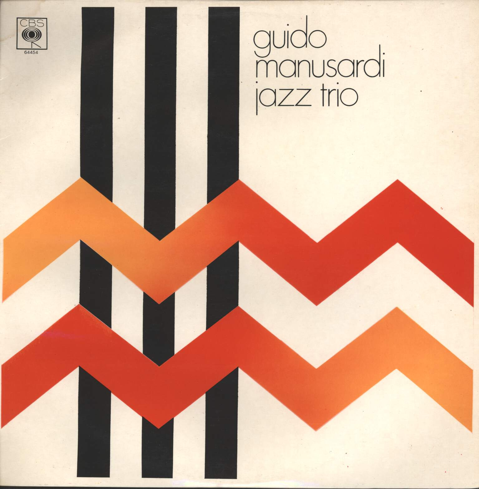 Guido Manusardi: Jazz Trio, LP (Vinyl)