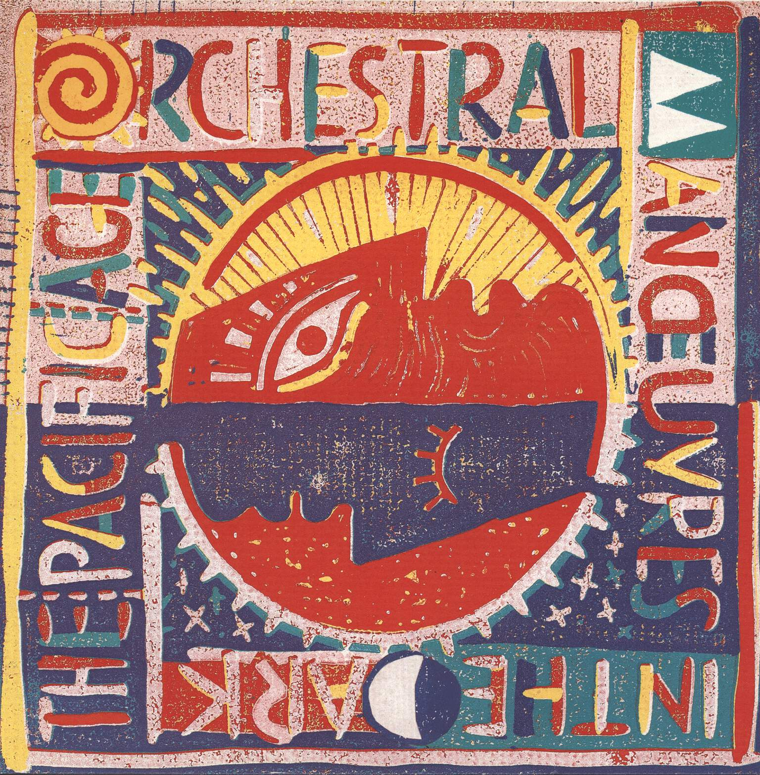 Orchestral Manoeuvres In The Dark: The Pacific Age, LP (Vinyl)