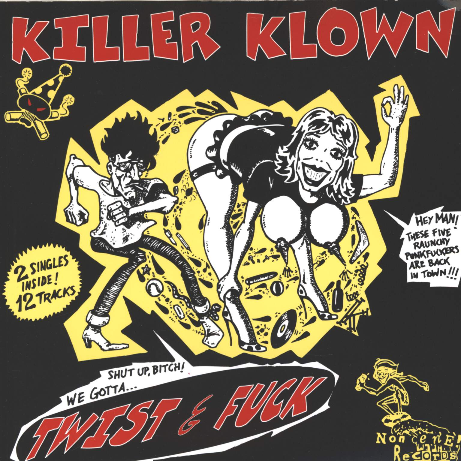 "Killer Klown: Twist & Fuck, 7"" Single (Vinyl)"