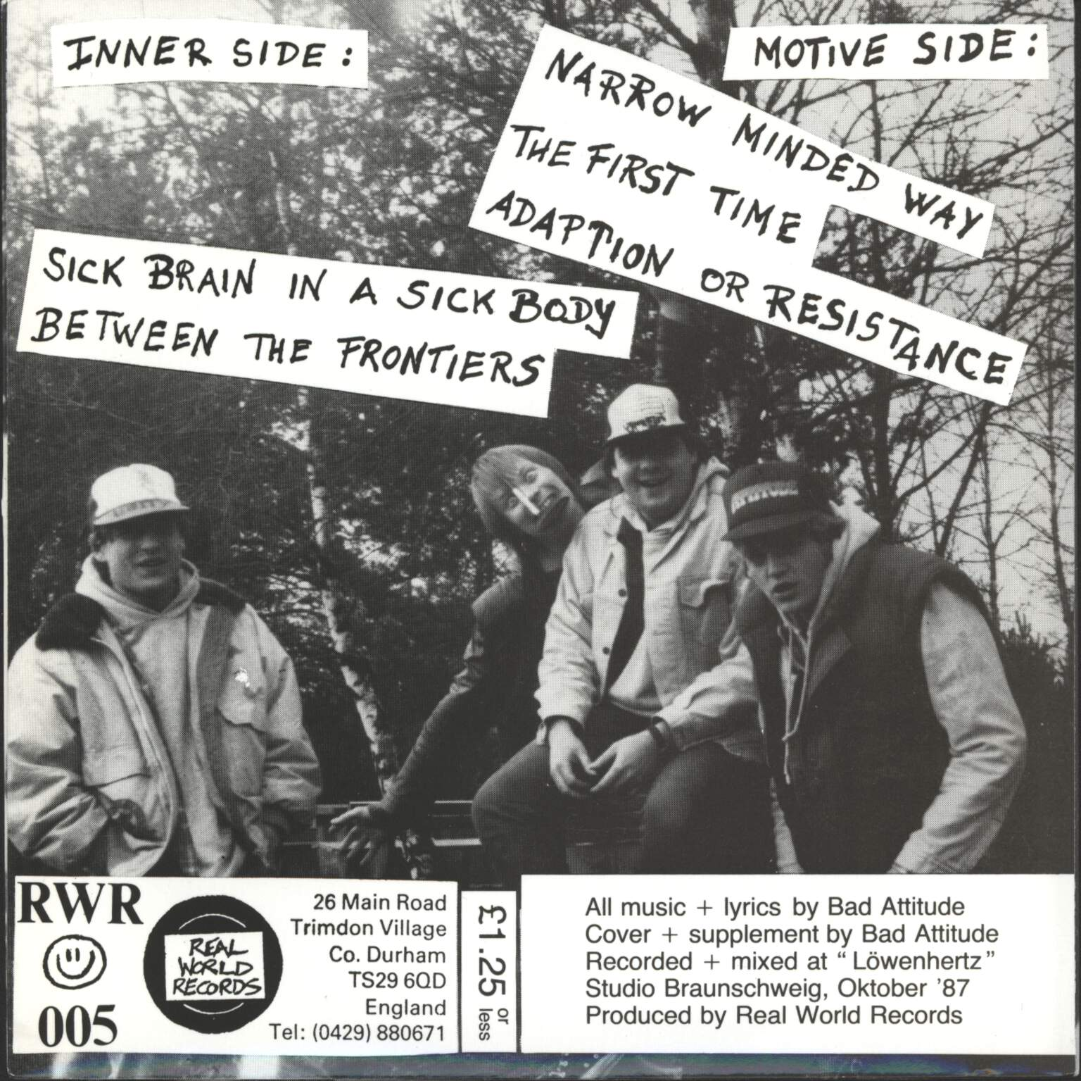 "Bad Attitude: Inner Motives, 7"" Single (Vinyl)"