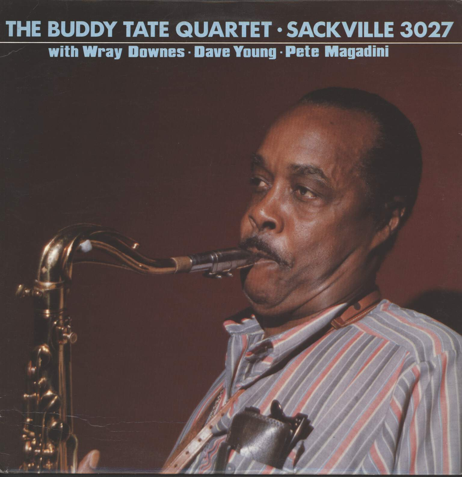 Buddy Tate Quartet: Buddy Tate Quartet with Wray Downes / Dave Young / Pete Magadini, LP (Vinyl)