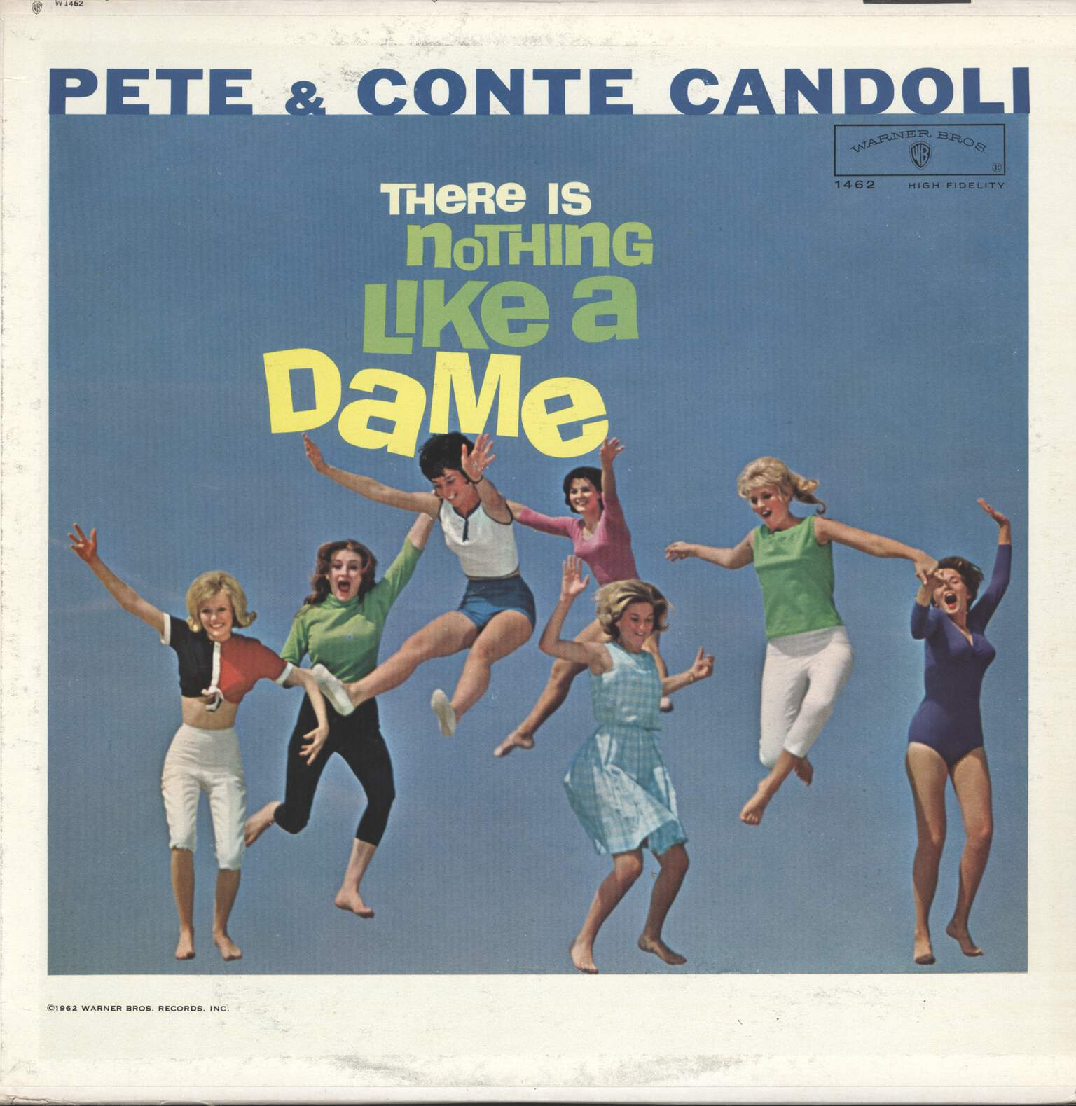 Pete & Conte Candoli: There Is Nothing Like A Dame, LP (Vinyl)