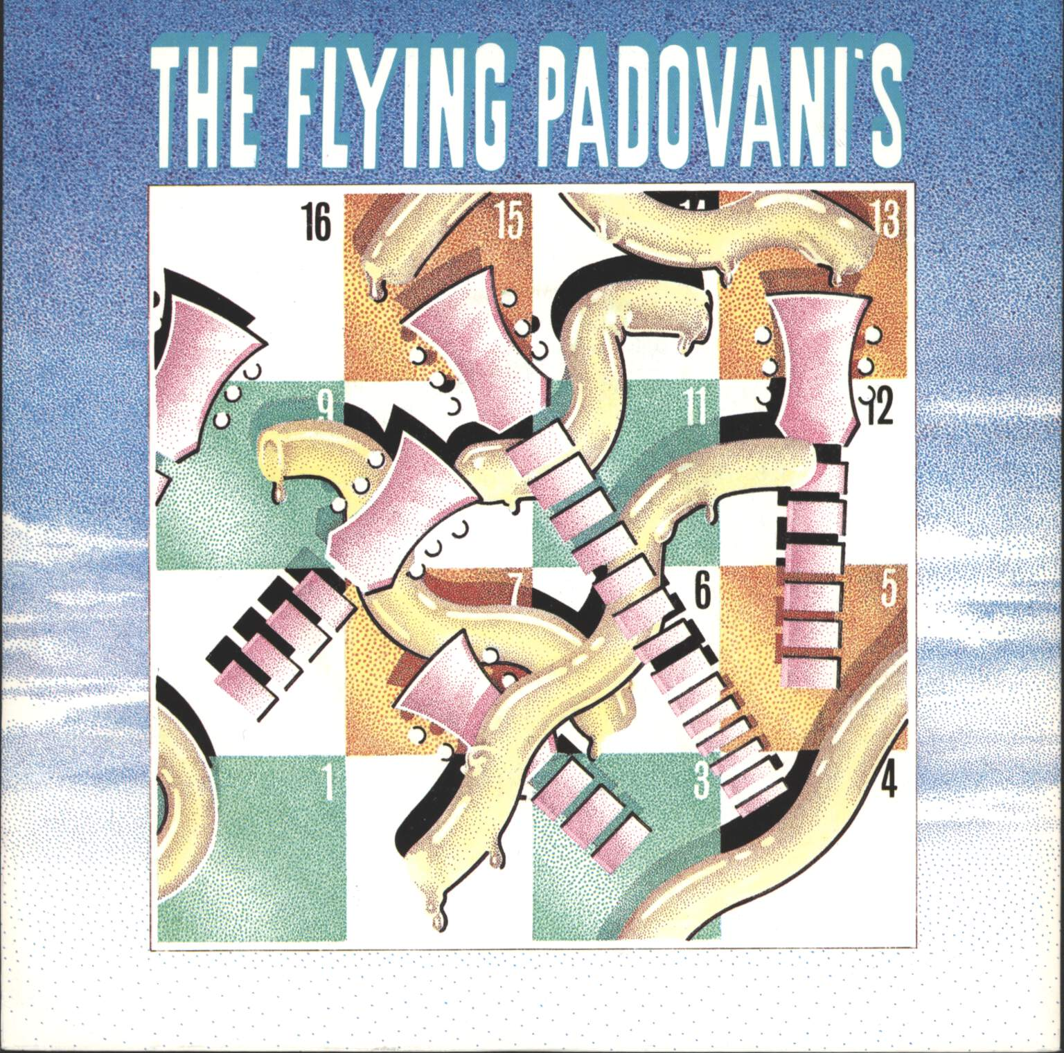 "Flying Padovani's: Western Pasta, 7"" Single (Vinyl)"