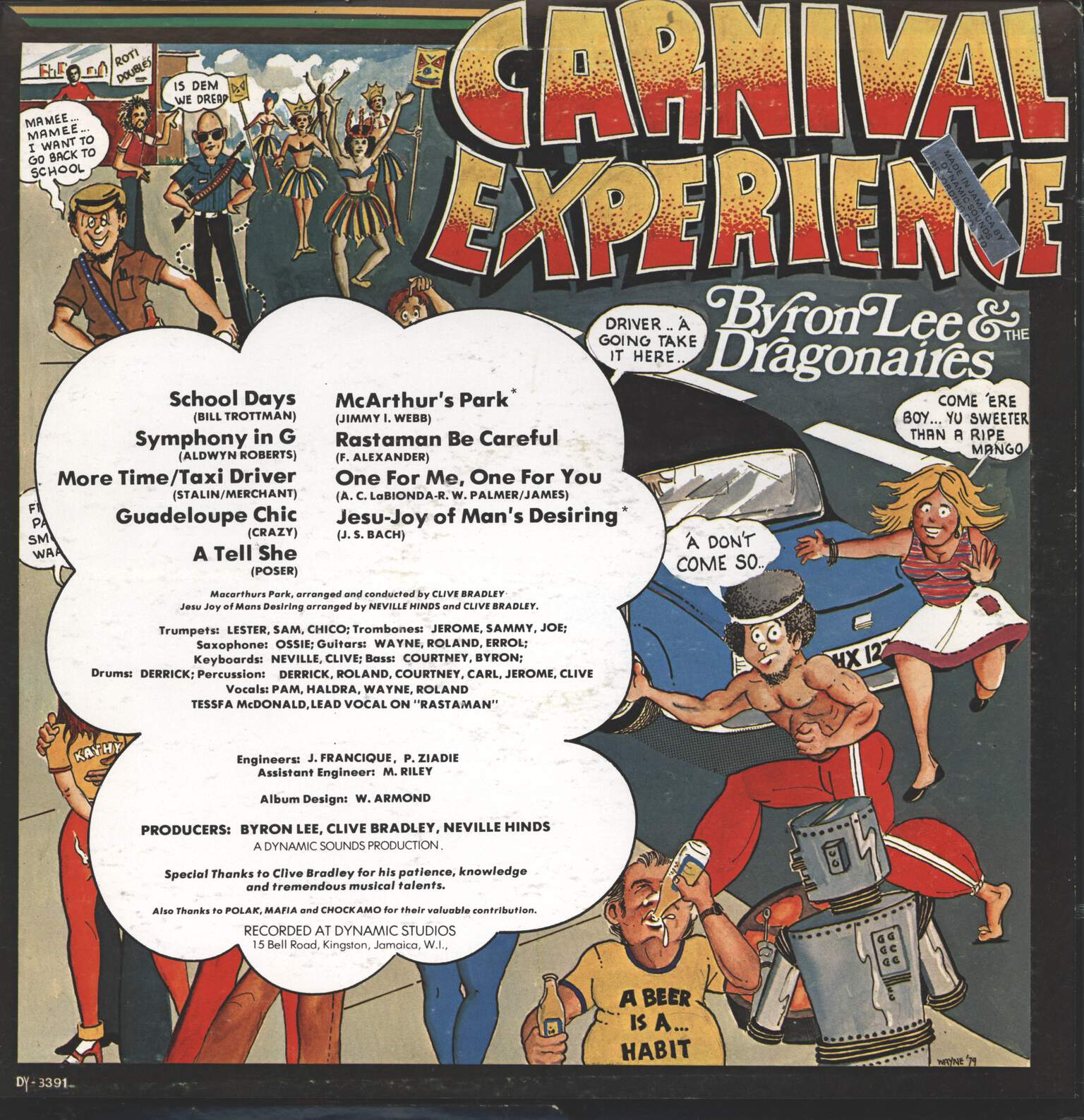 Byron Lee And The Dragonaires: Carnival Experience, LP (Vinyl)
