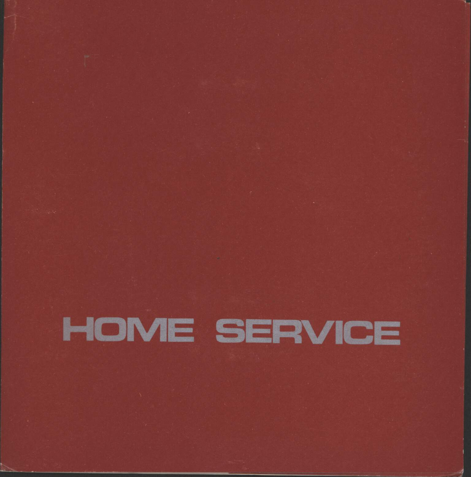 "Home Service: Thin Hours, 7"" Single (Vinyl)"