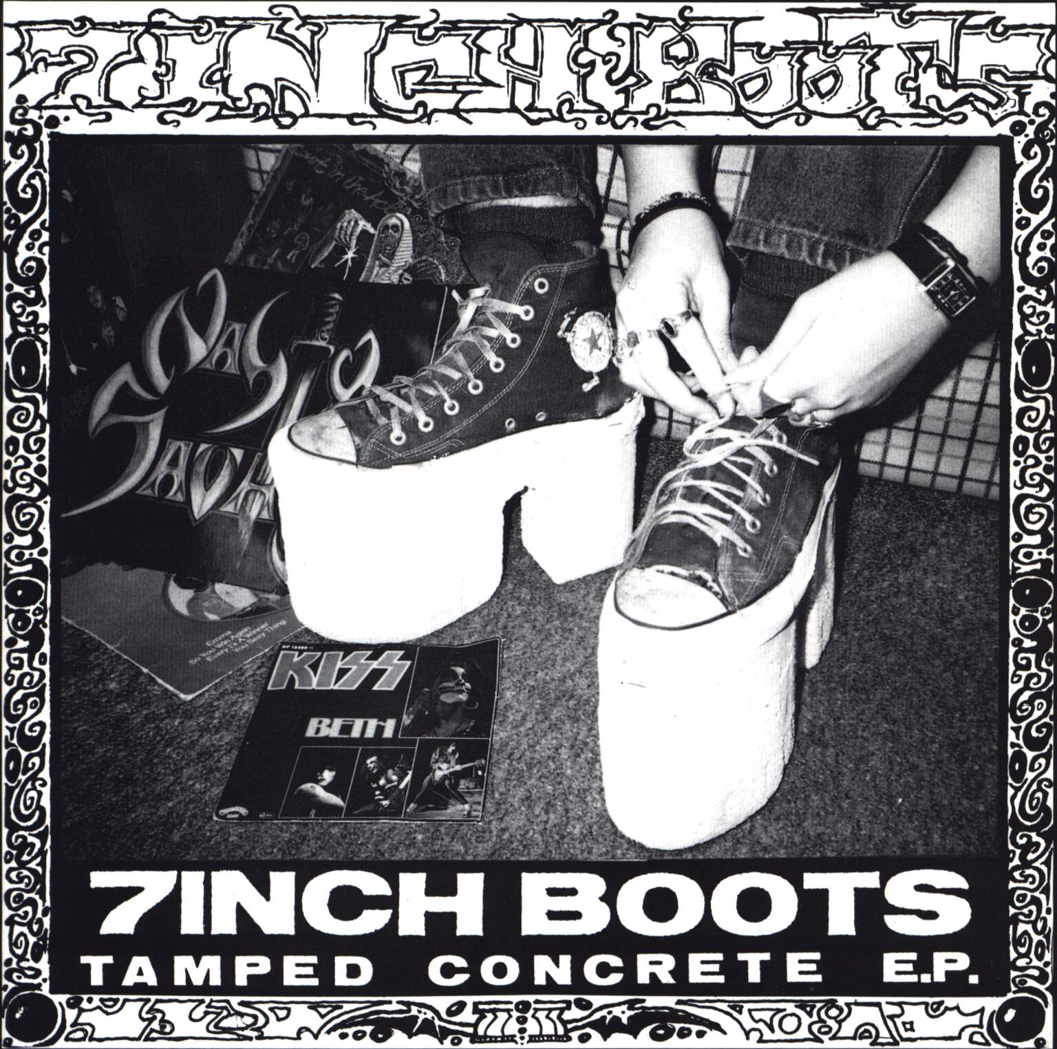 "7 Inch Boots: Tamped Concrete E.P., 7"" Single (Vinyl)"