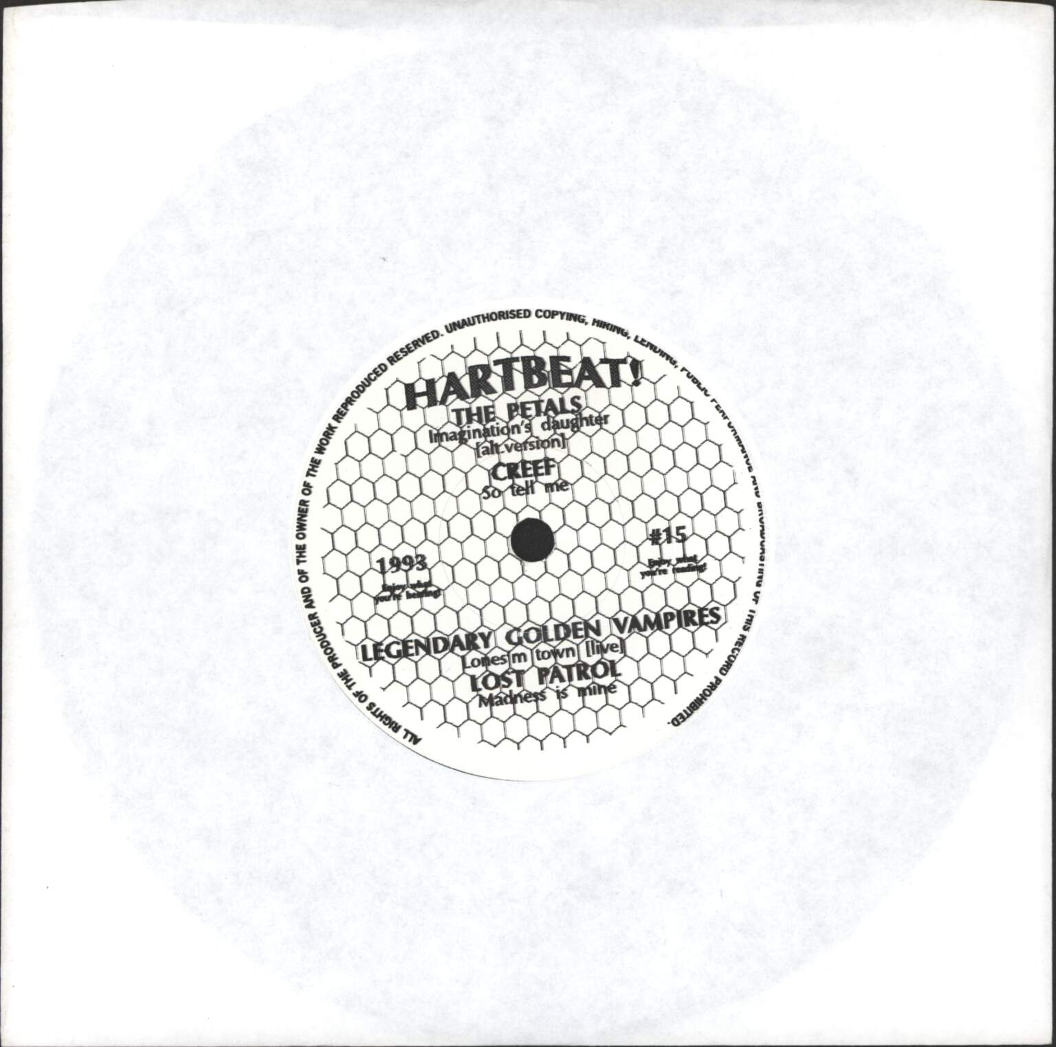"Various: Hartbeat! #15, 7"" Single (Vinyl)"