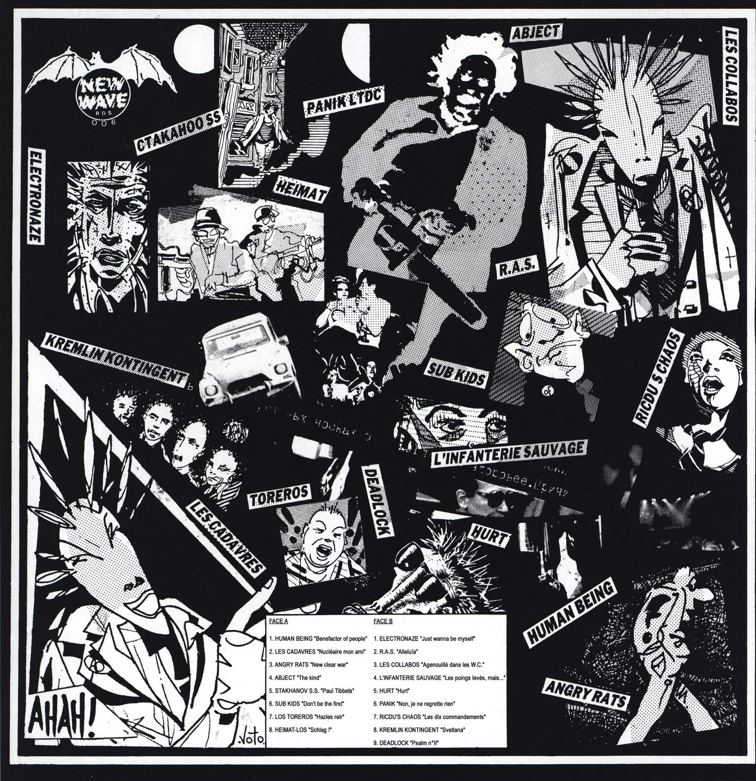 Various: 1984: The First Sonic World War, LP (Vinyl)