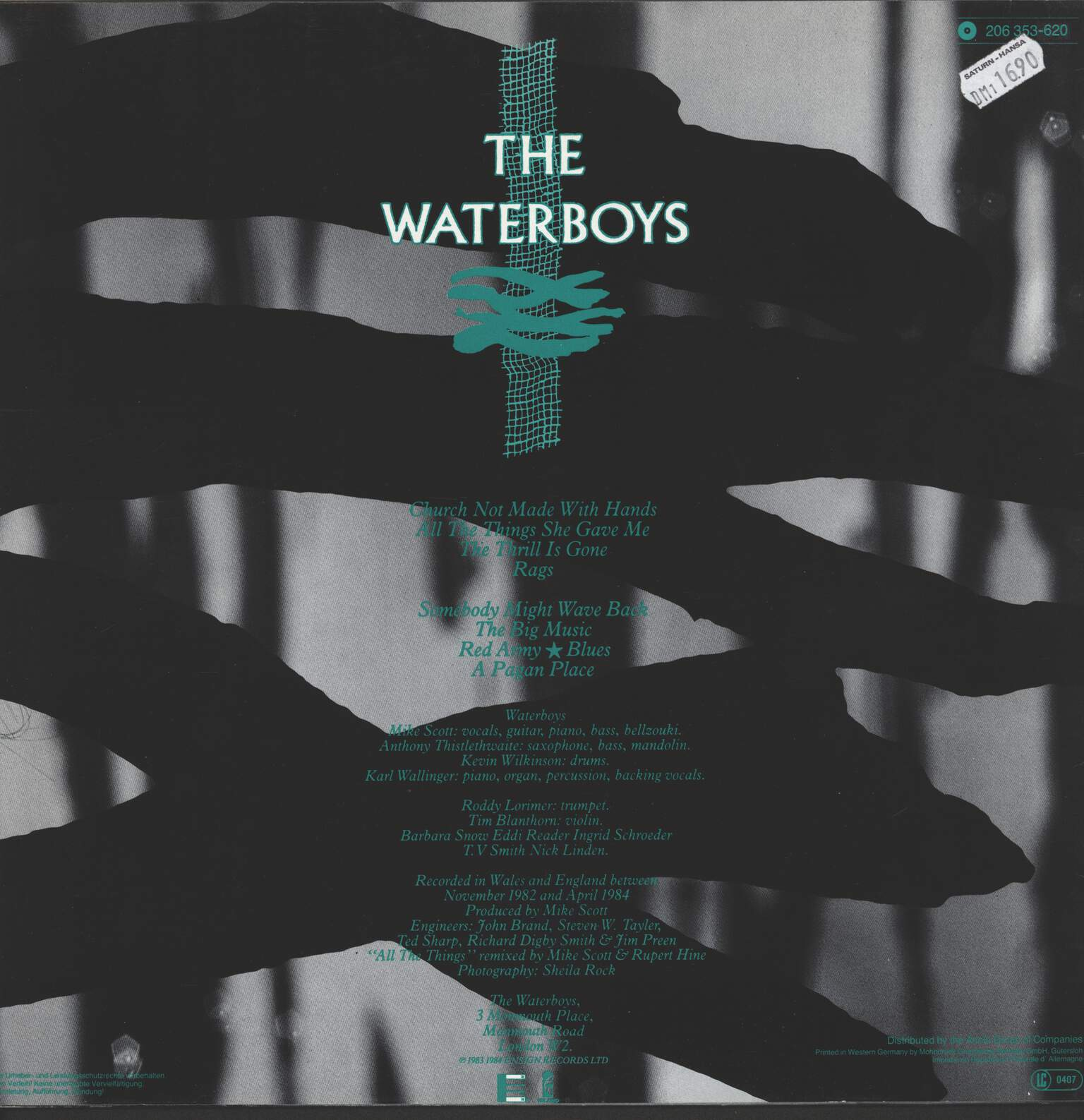 Waterboys: A Pagan Place, LP (Vinyl)