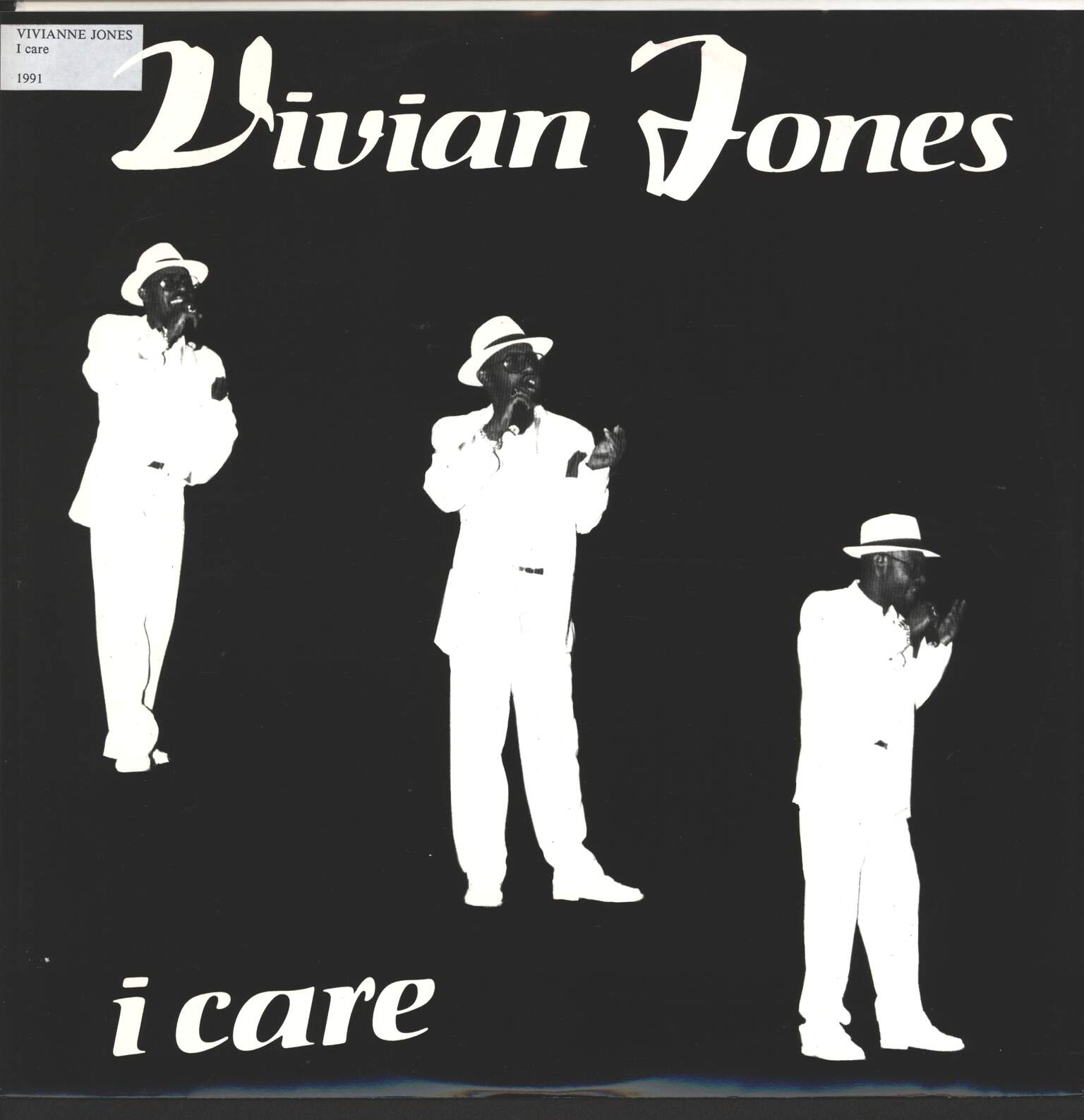 "Vivian Jones: I Care, 12"" Maxi Single (Vinyl)"
