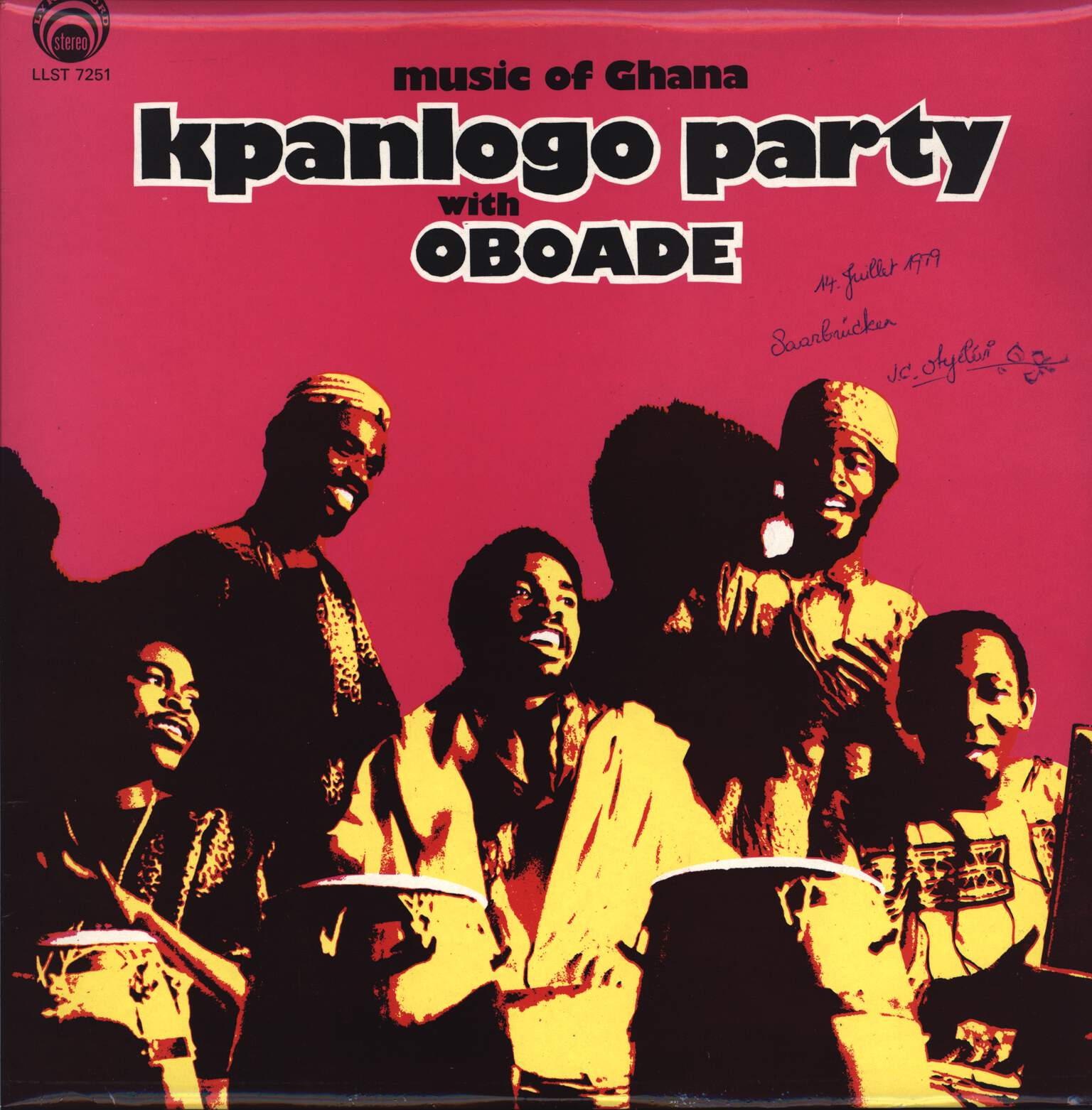 Oboade: Kpanlogo Party, LP (Vinyl)