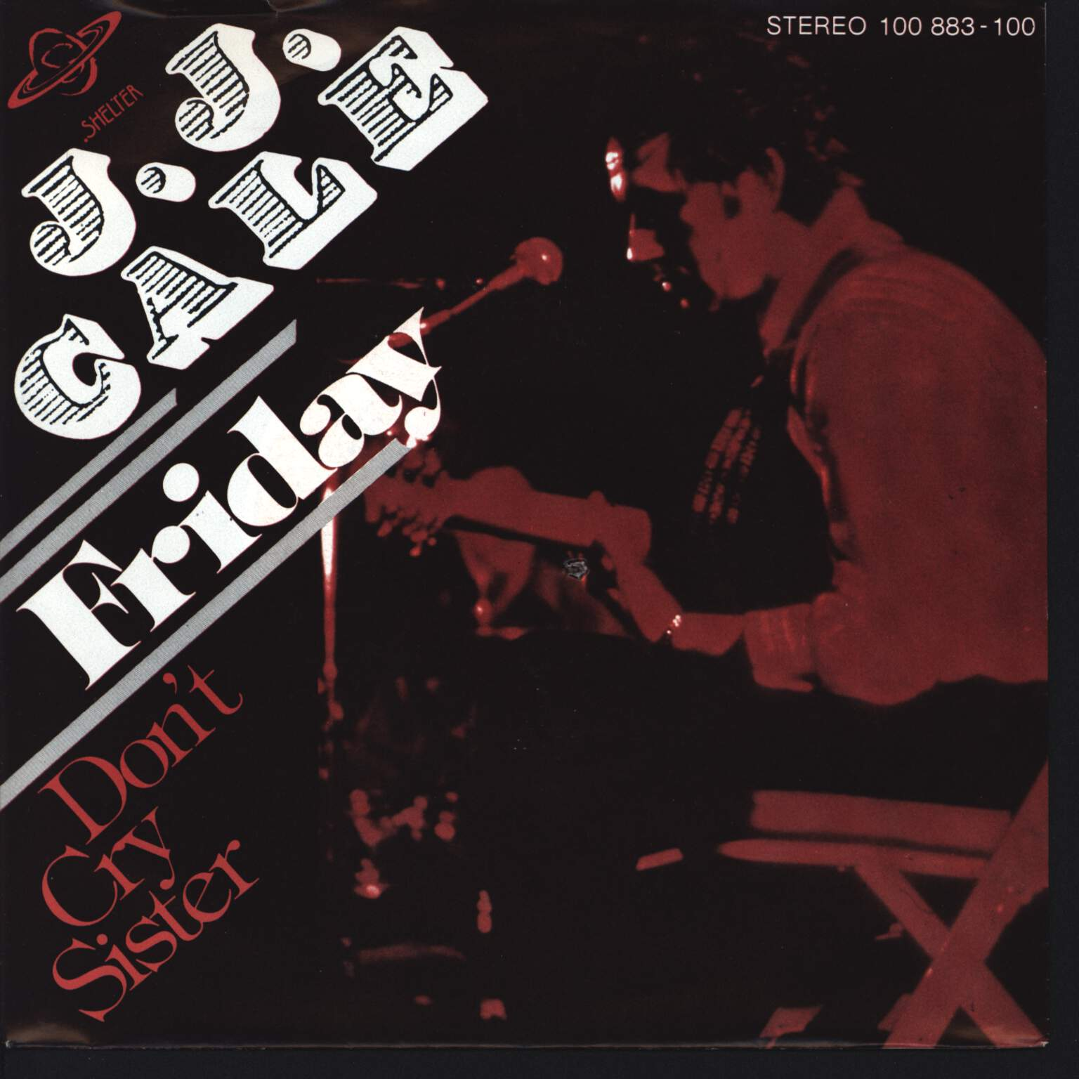 "J.J. Cale: Friday / Don't Cry Sister, 7"" Single (Vinyl)"
